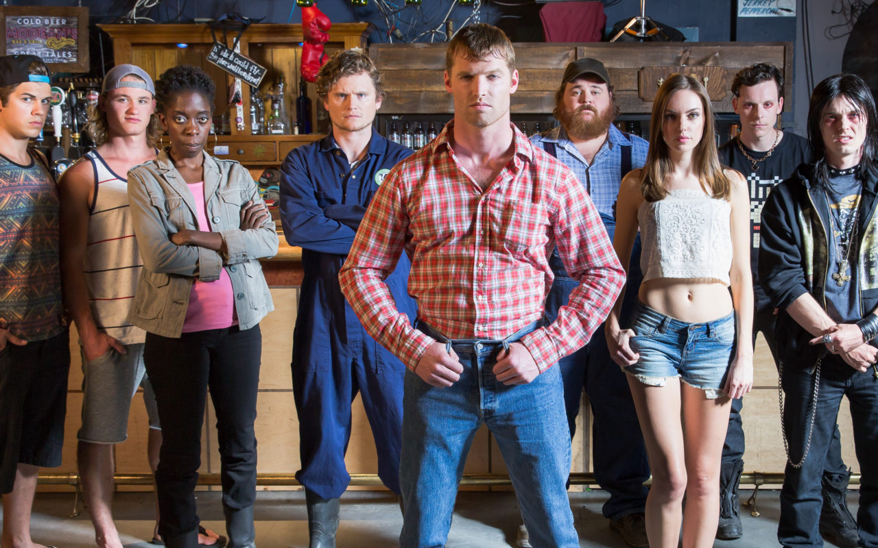 The cast of Letterkenny.
