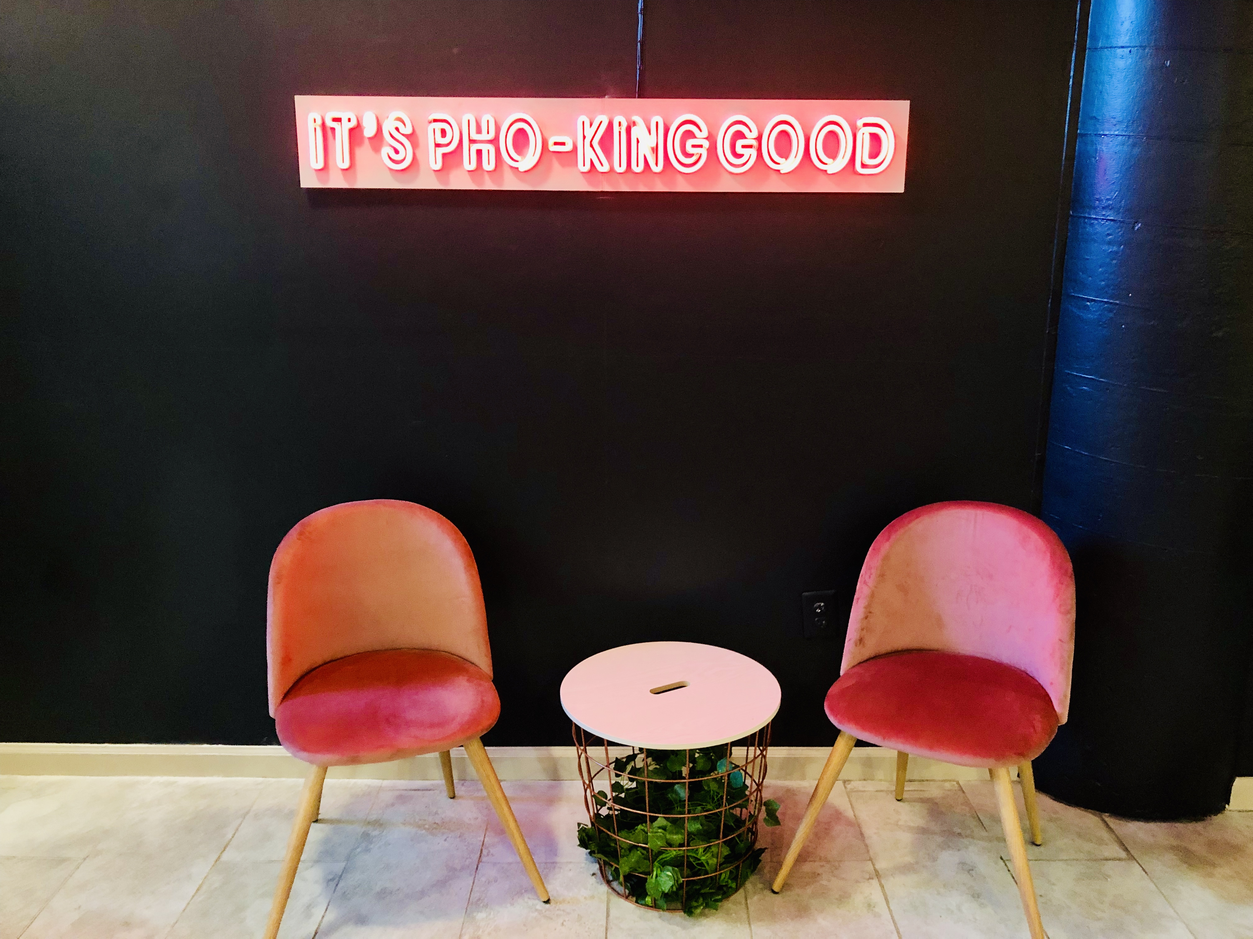 A Pun-Packed Pho Place Gives Georgetown Kids a New, Affordable Date Spot