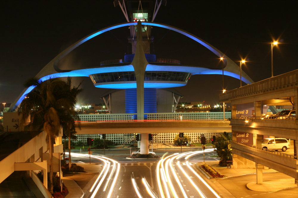 The Theme Building at Los Angeles International Airport
