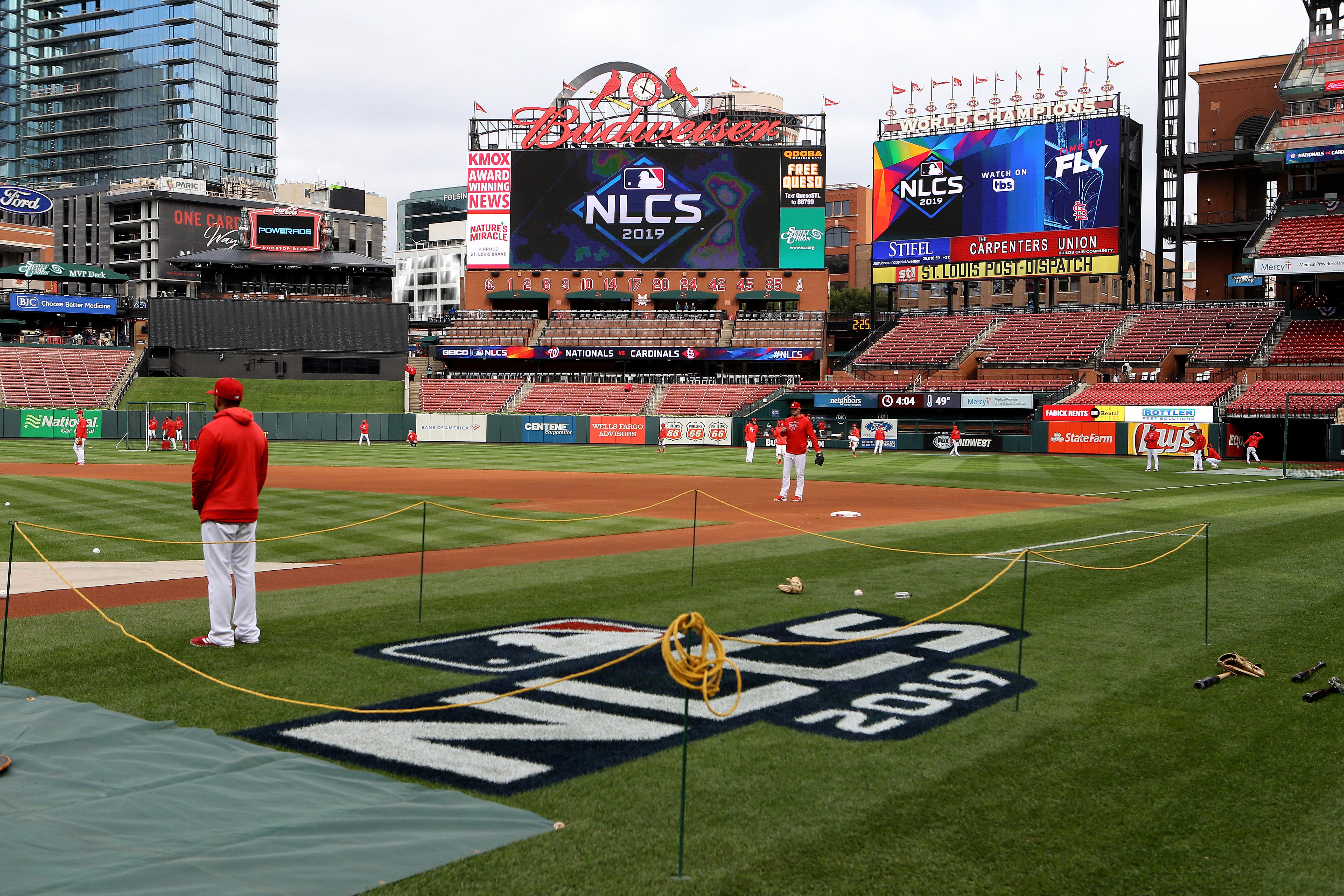 League Championship Series - Washington Nationals v St Louis Cardinals - Game One