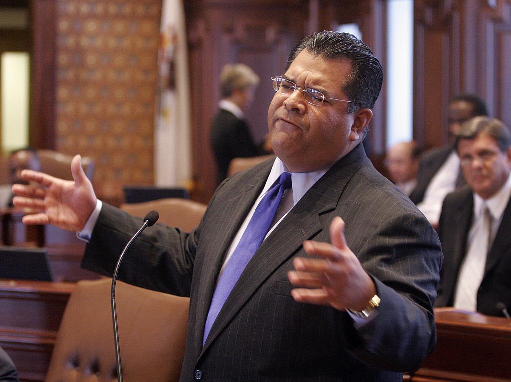 State Sen. Martin Sandoval, D-Chicago