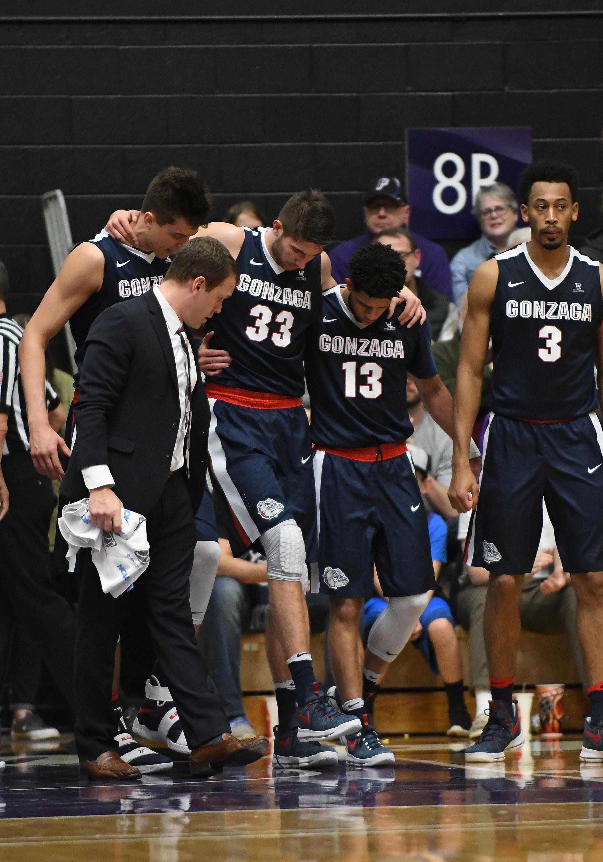 NCAA BASKETBALL: JAN 23 Gonzaga at Portland
