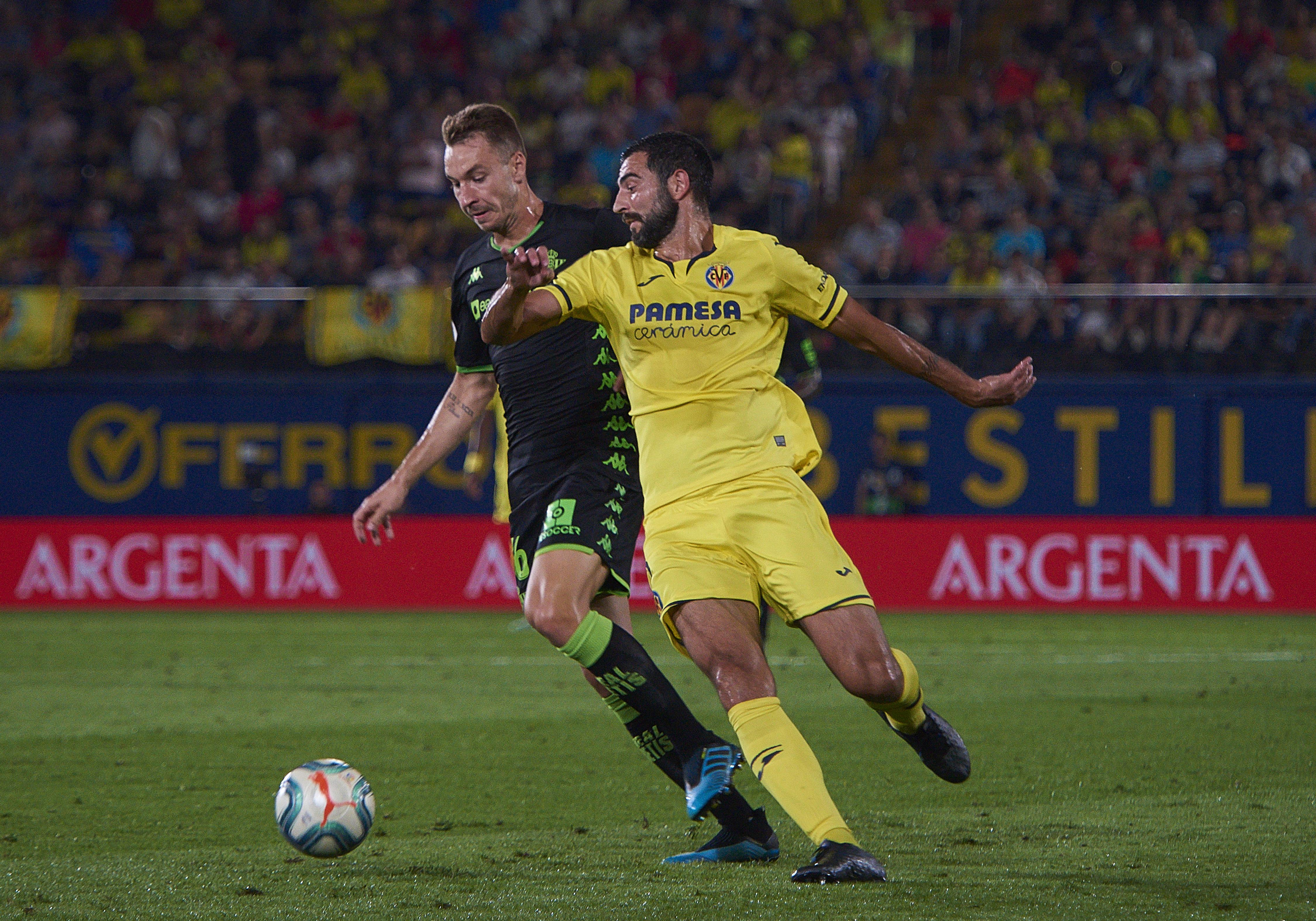 SOCCER: SEP 27 La Liga - Real Betis Balompie at Villarreal CF