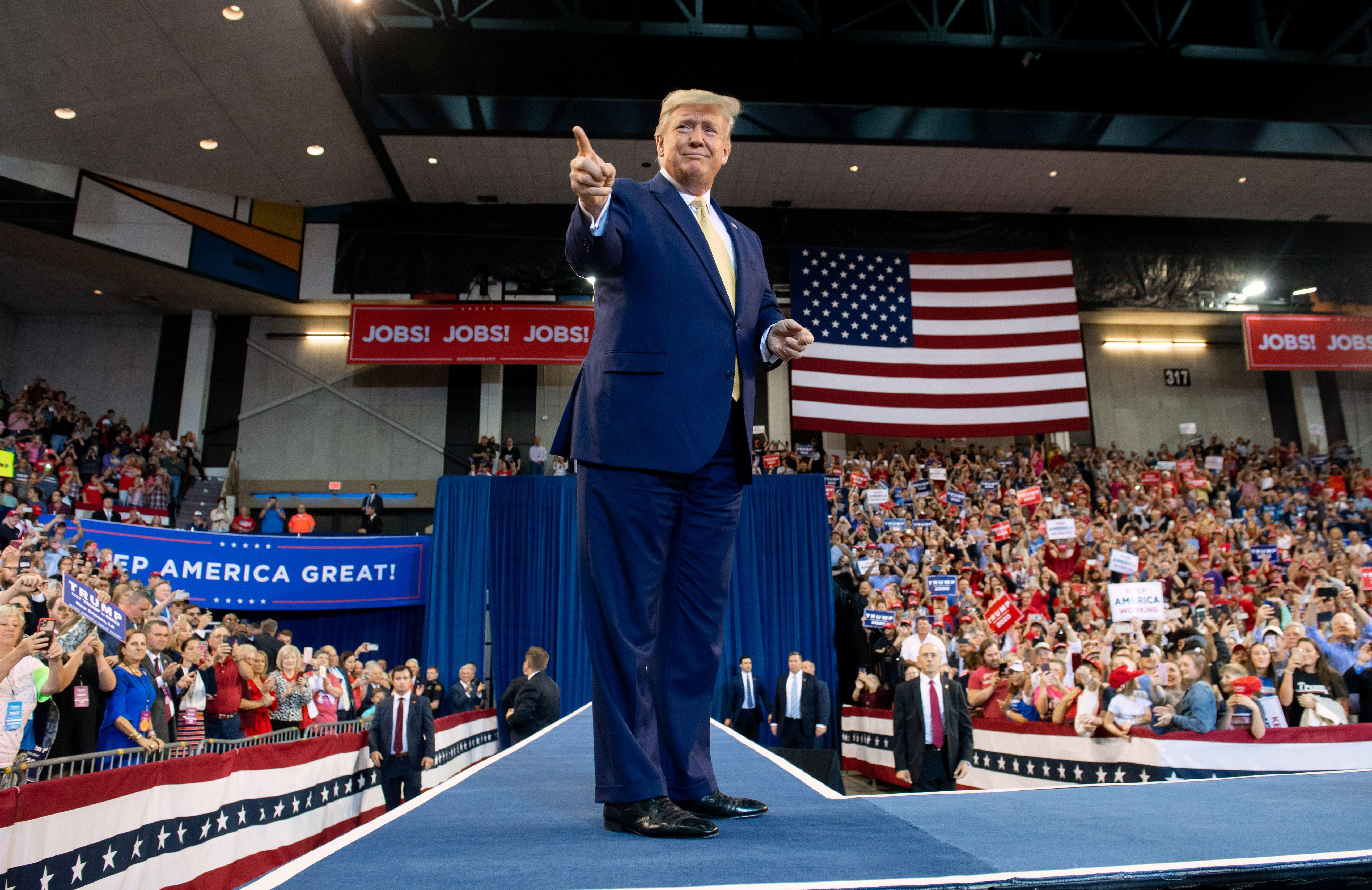 Trump went to Louisiana to stump for local Republicans. He ended up attacking national Democrats instead.