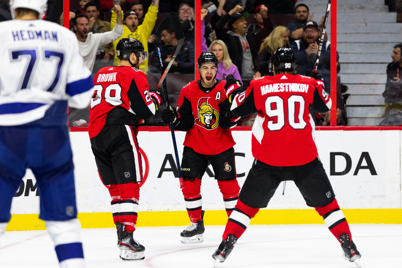NHL: OCT 12 Lightning at Senators