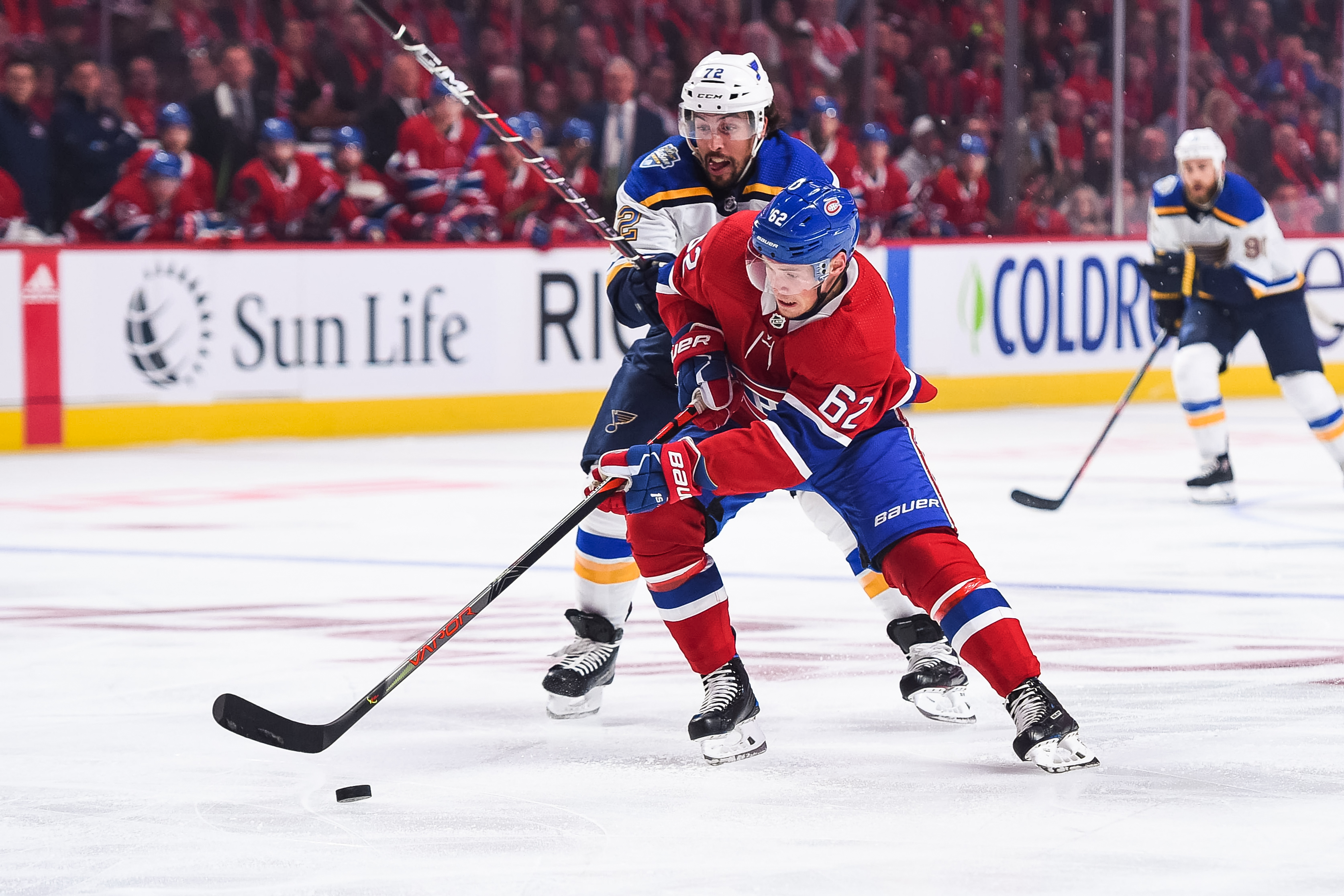 NHL: OCT 12 Blues at Canadiens