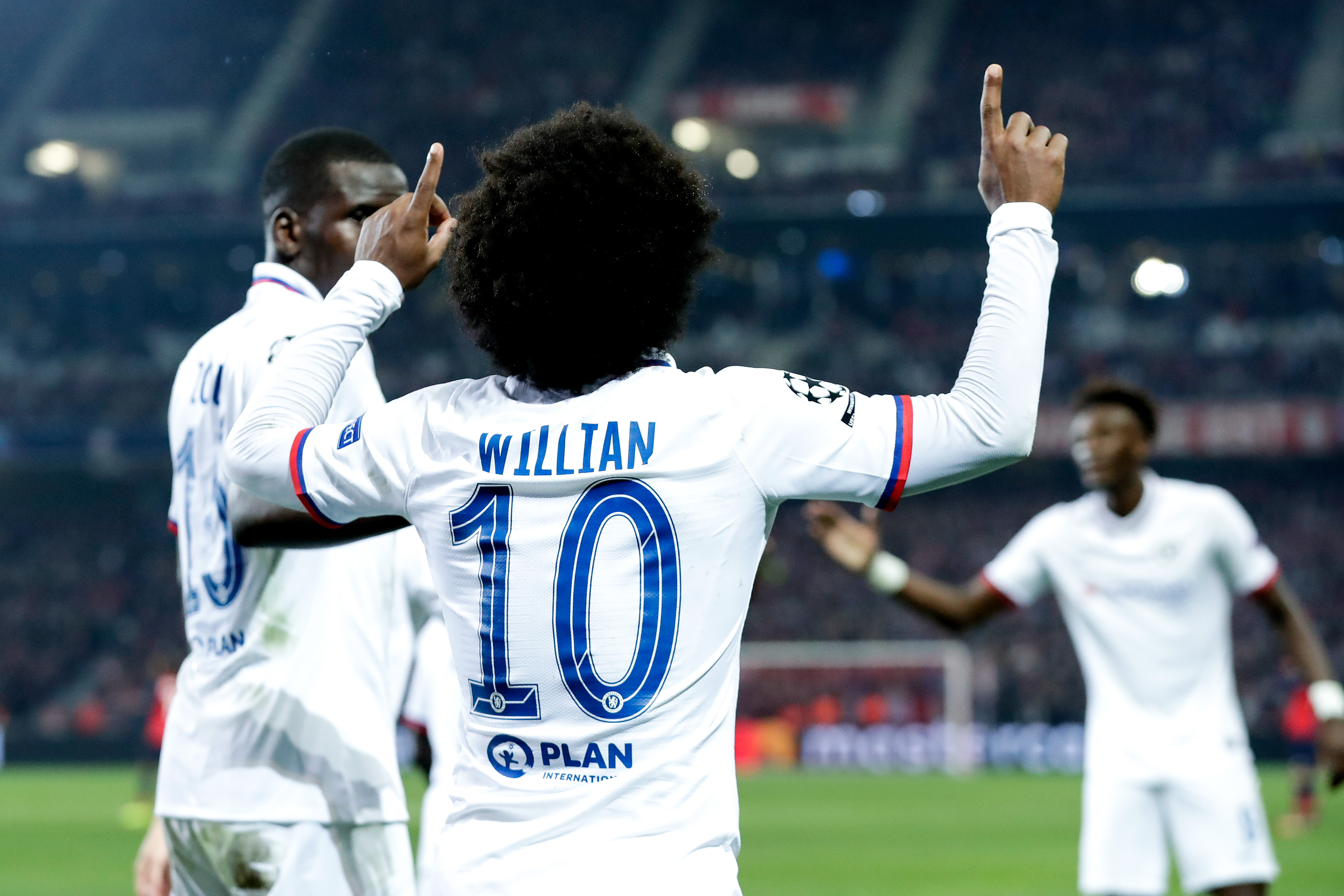 Willian proud to enter 300 Club and leave his mark in Chelsea history
