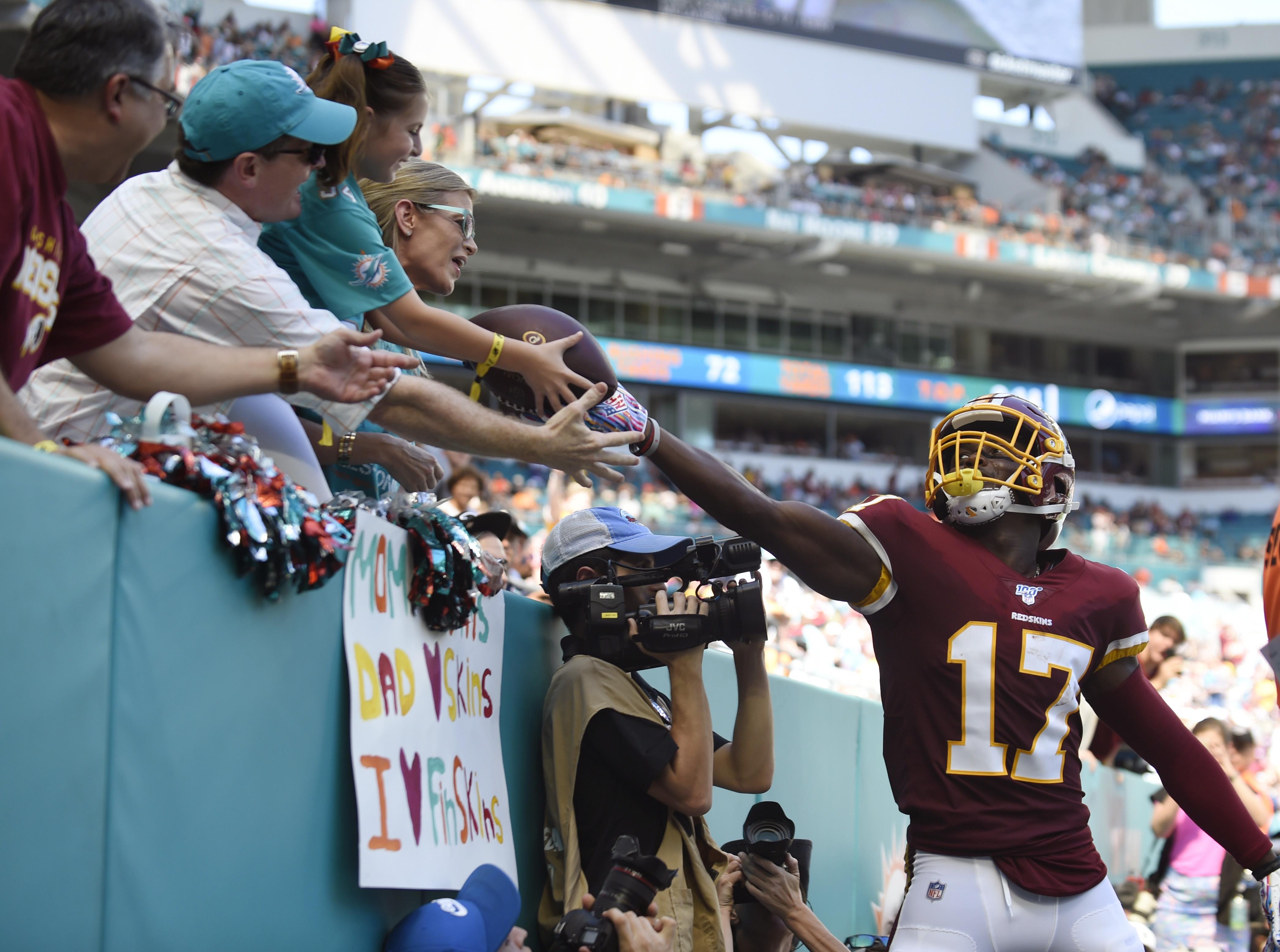 Washington Redskins v Miami Dolphins