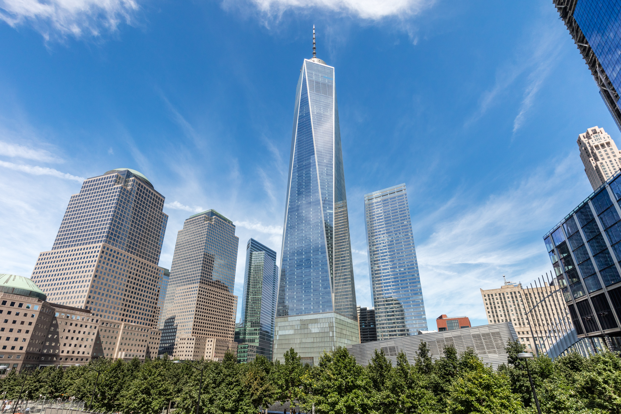 Architect's lawsuit alleging One WTC copyright infringement moves forward—barely