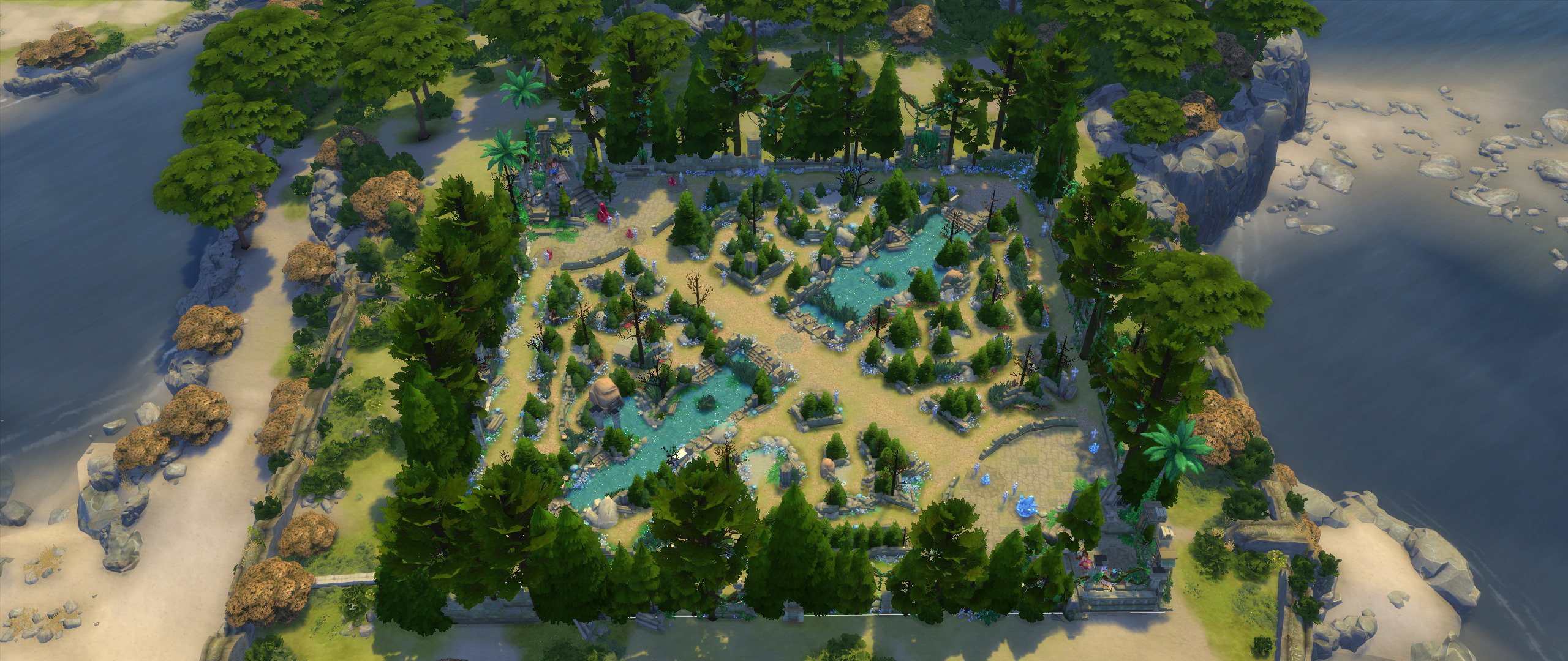 Summoner's Rift made on The Sims 4