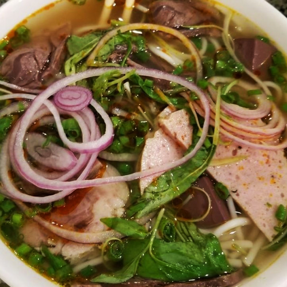 A bowl of pho soup served by Pho Saigon 8, coming soon to Centennial.