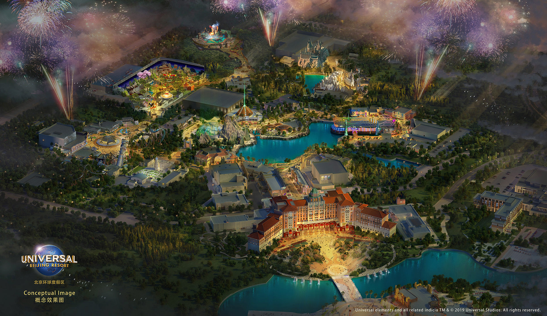 Wizarding World and Kung Fu Panda land coming to Universal's future Beijing theme park
