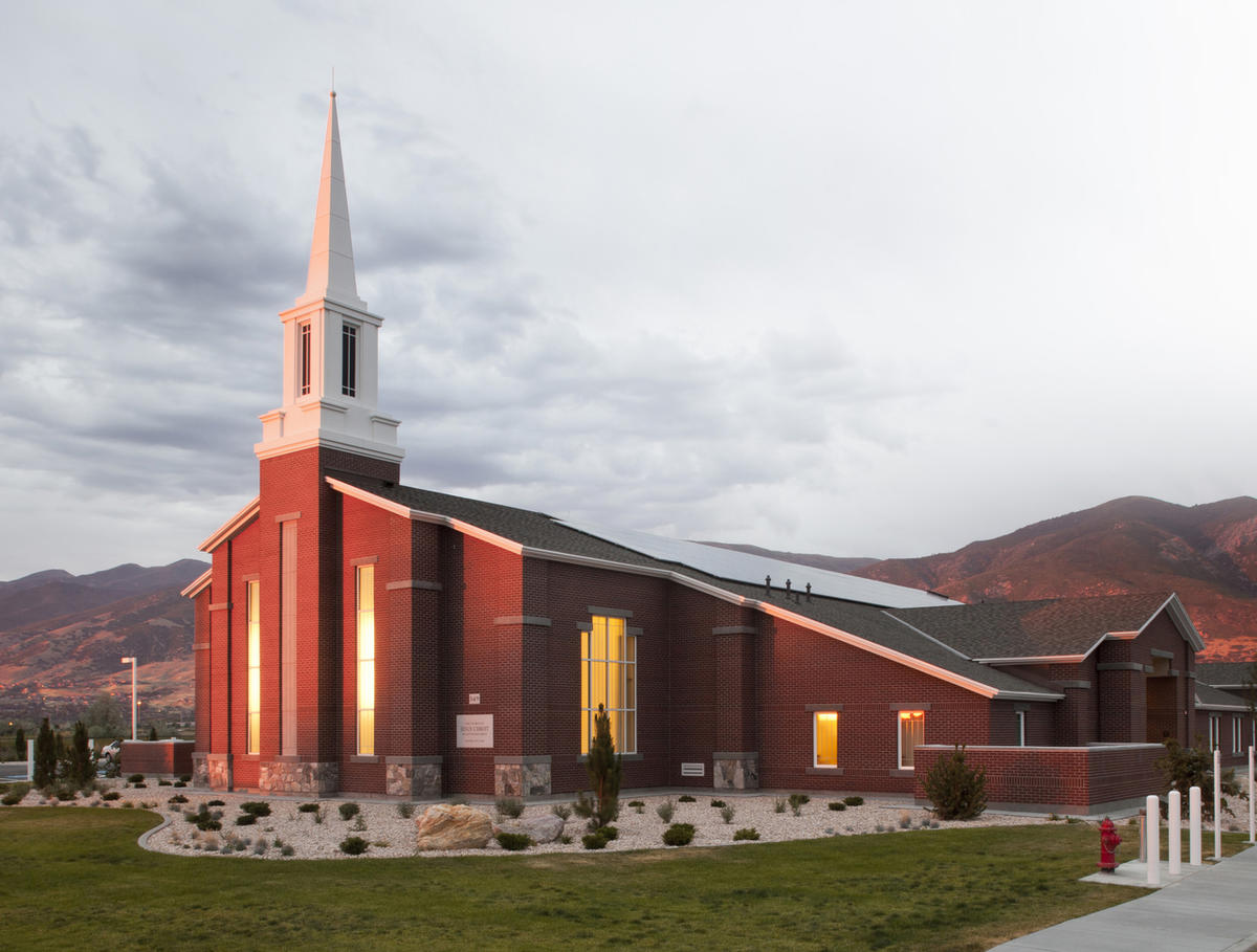 A meetinghouse of The Church of Jesus Christ of Latter-day Saints.