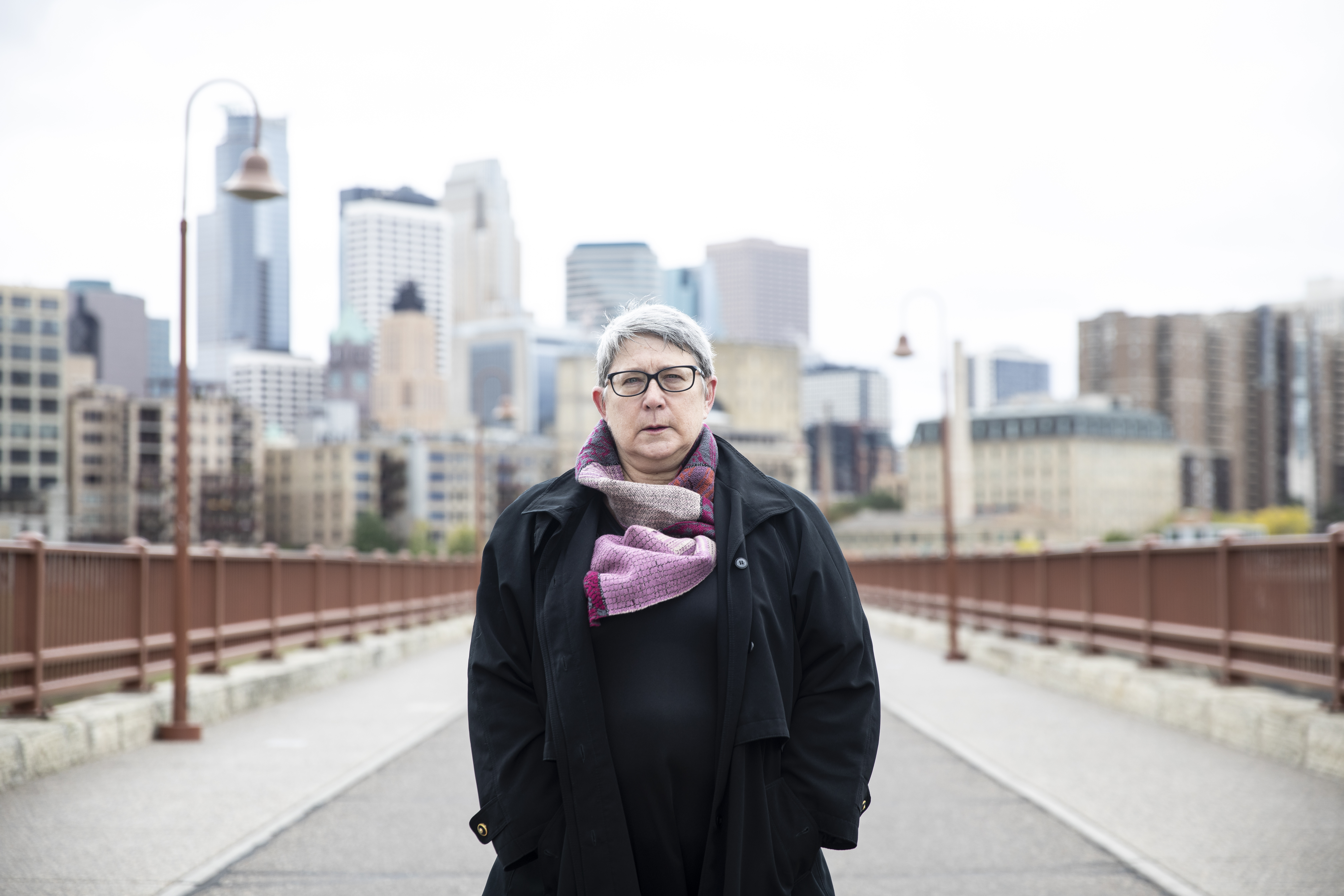 A portrait of Jane Turner, a former FBI agent and whistleblower, in Minneapolis, Minn., on Friday, Oct. 11, 2019.
