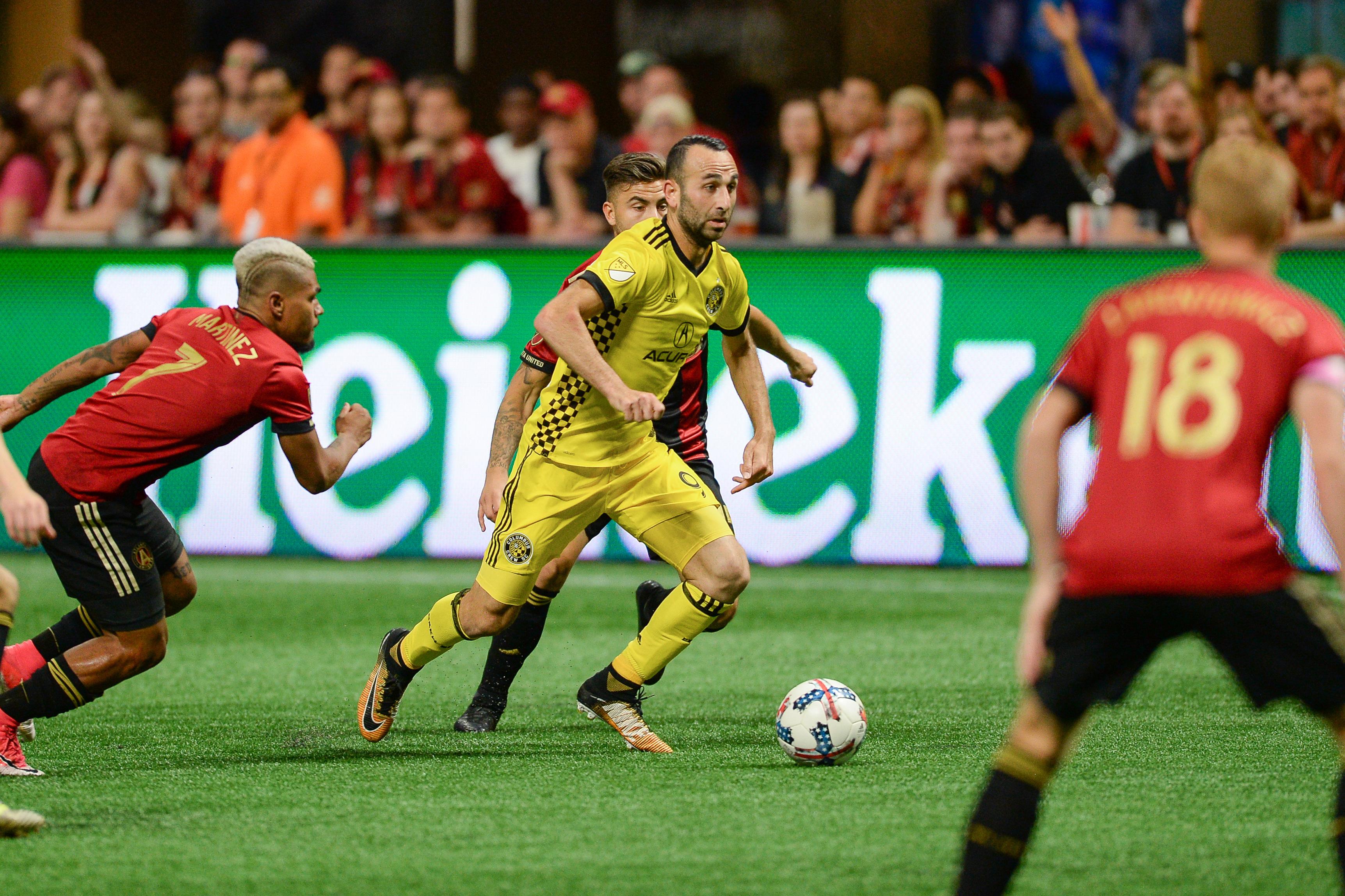 SOCCER: OCT 26 MLS Cup Playoffs - Columbus Crew at Atlanta United