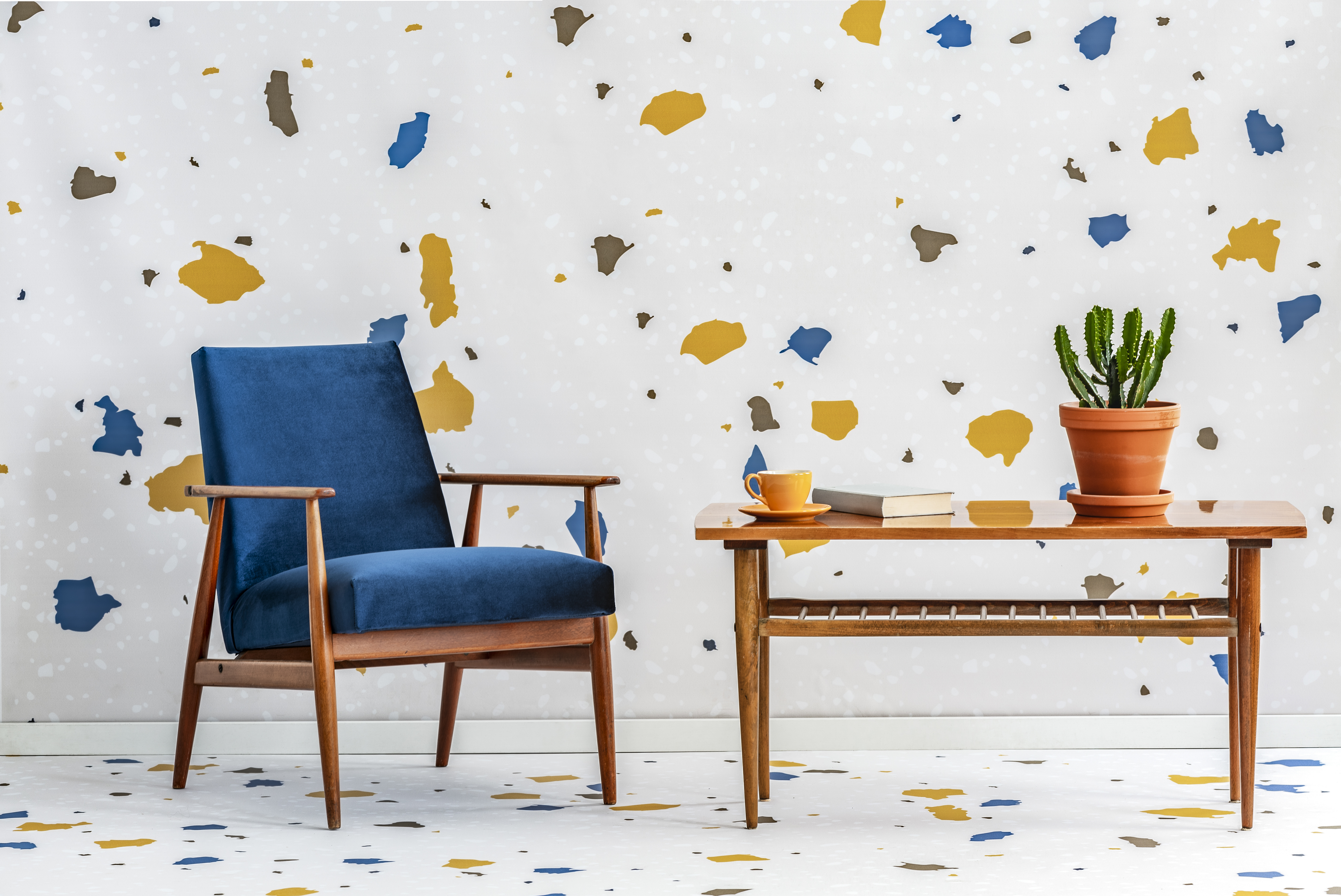 Terrazzo used to be kitschy. Now it's on everything from Spalding basketballs to Madewell dresses.