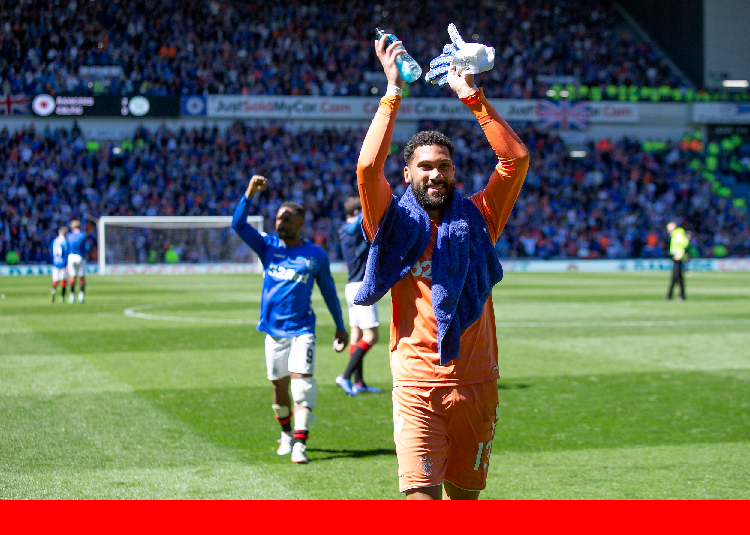 Rangers v Celtic - Scottish Ladbrokes Premiership - Ibrox Stadium