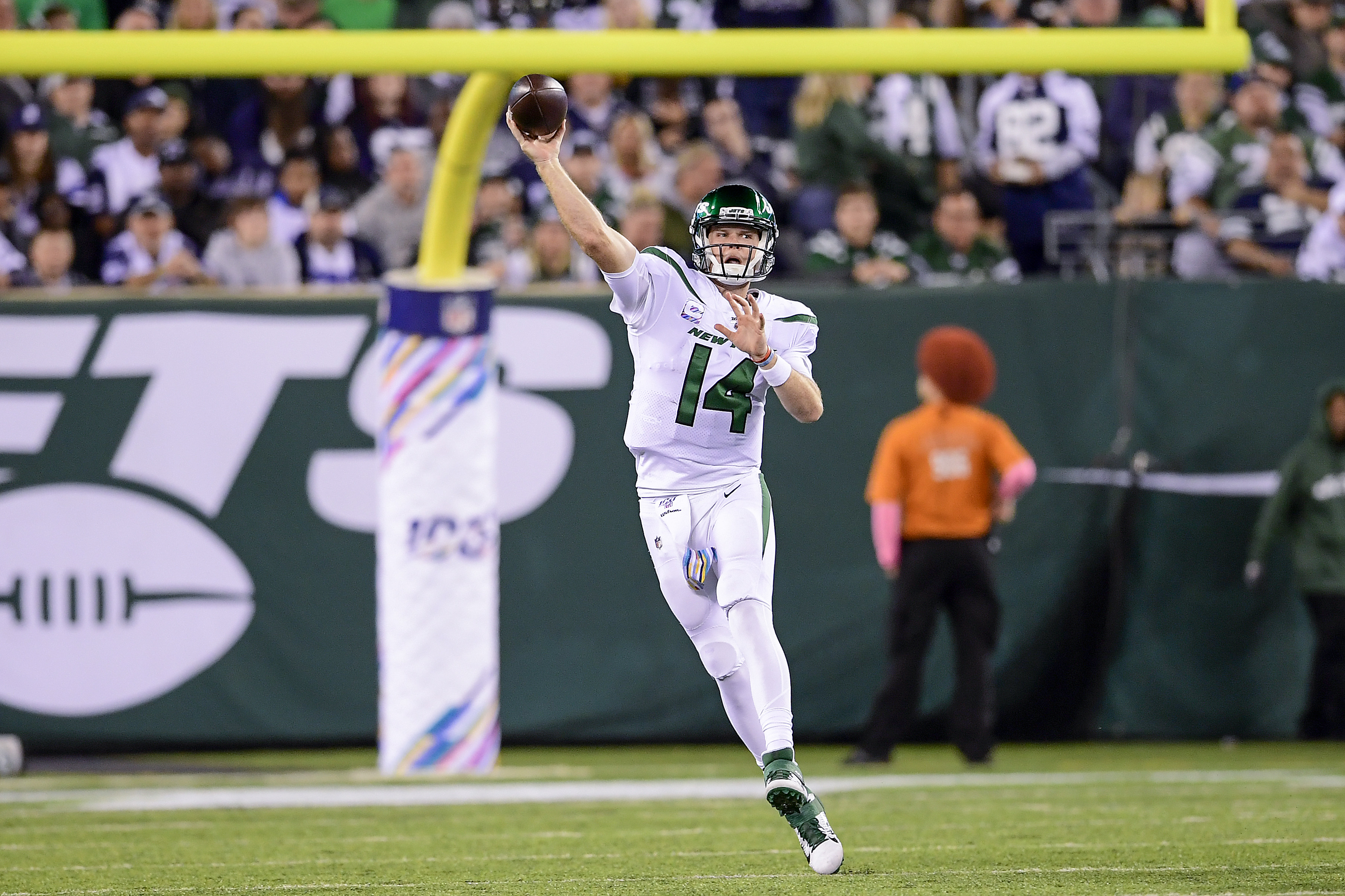 How Sam Darnold makes the Jets' offense an actual threat
