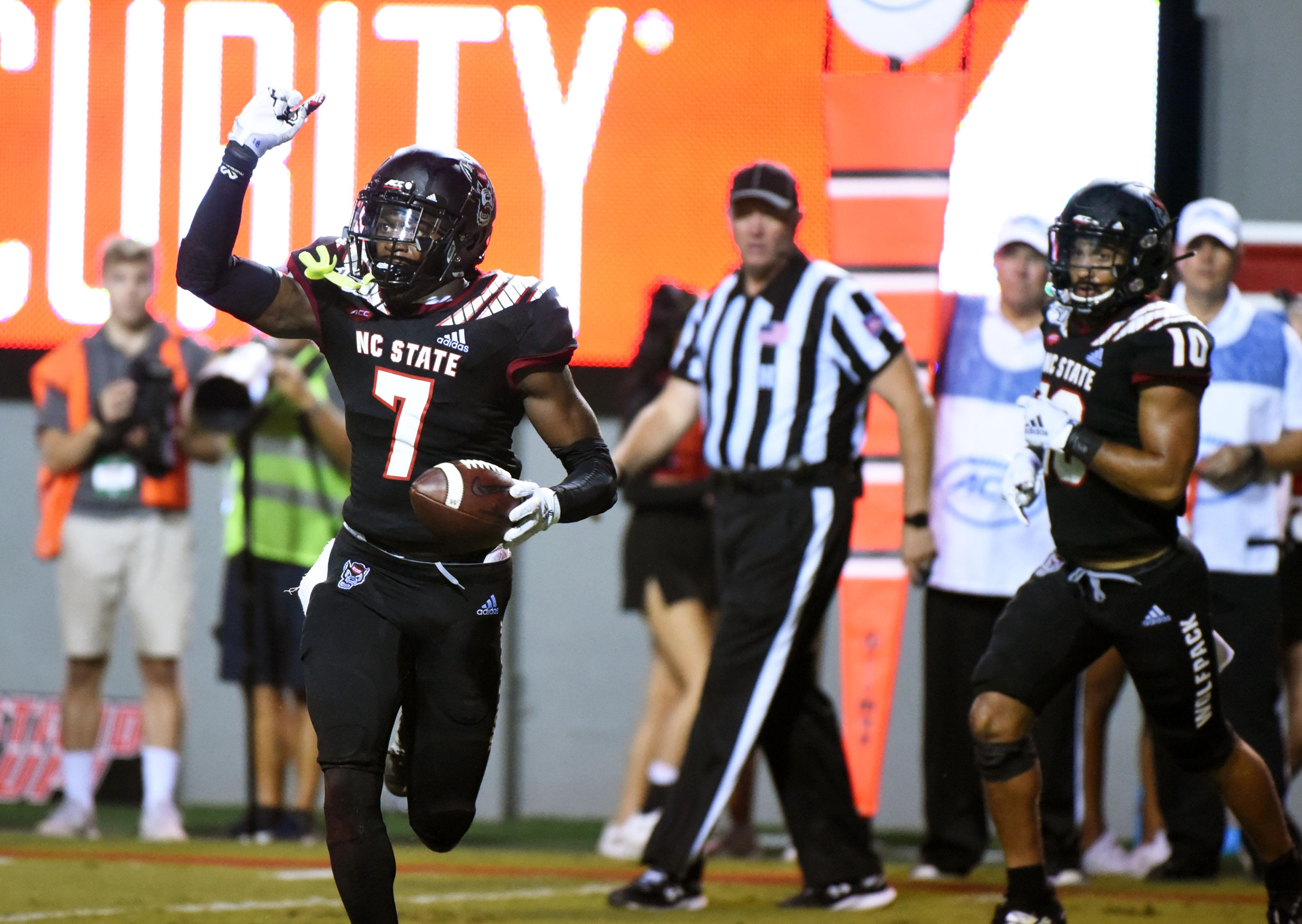 NCAA Football: Ball State at North Carolina State
