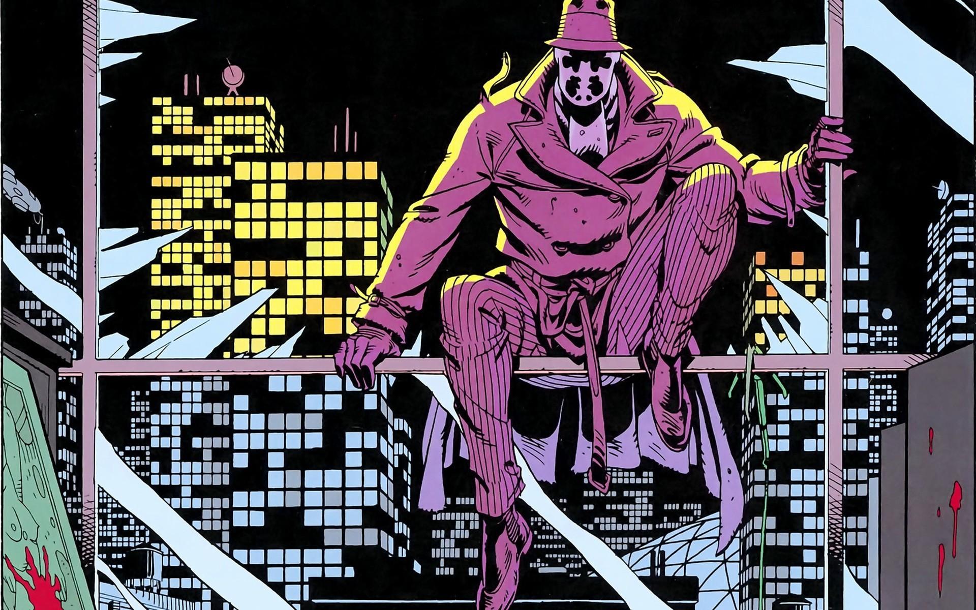 Rorschach in Watchmen #1, DC Comics (1986).