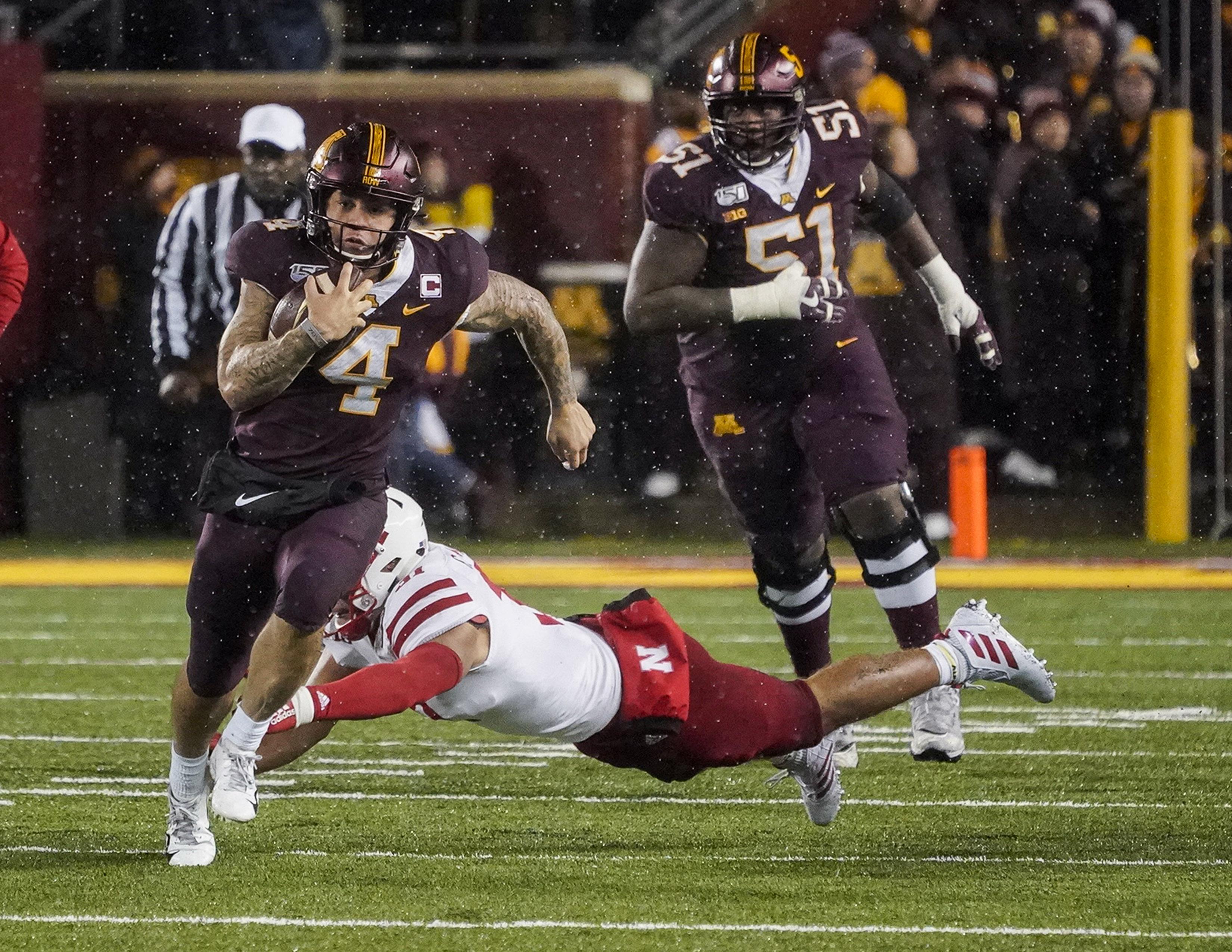 COLLEGE FOOTBALL: OCT 12 Nebraska at Minnesota