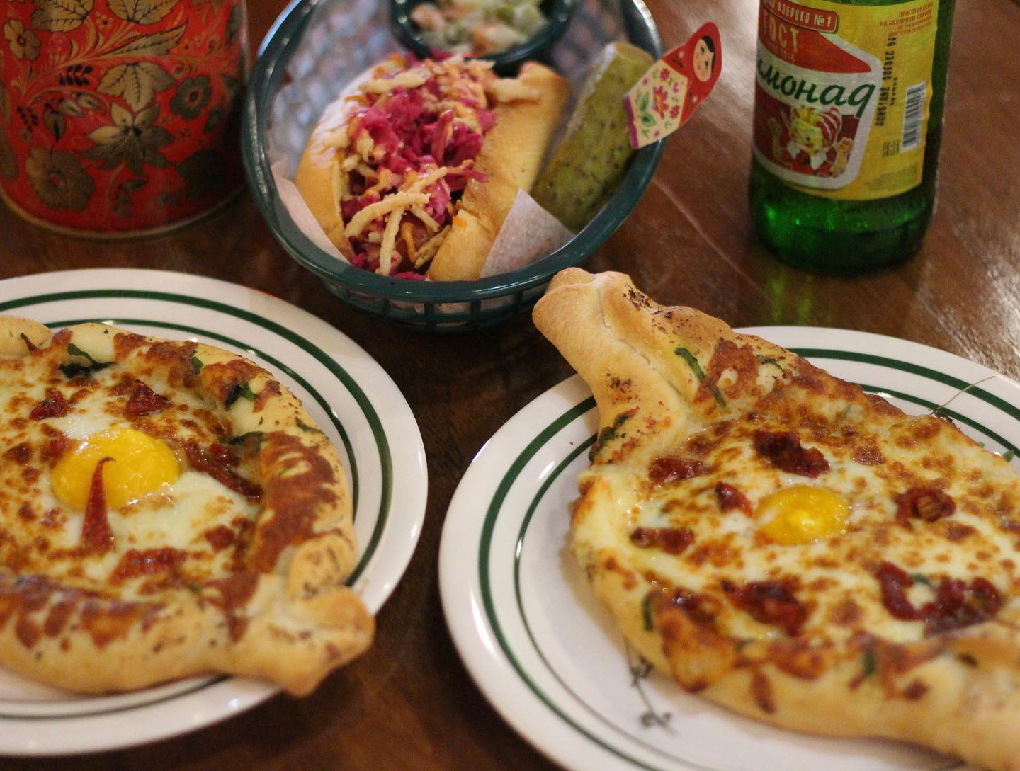 Downtown Montreal Has a New Russian Restaurant Complete With Cheese Boats