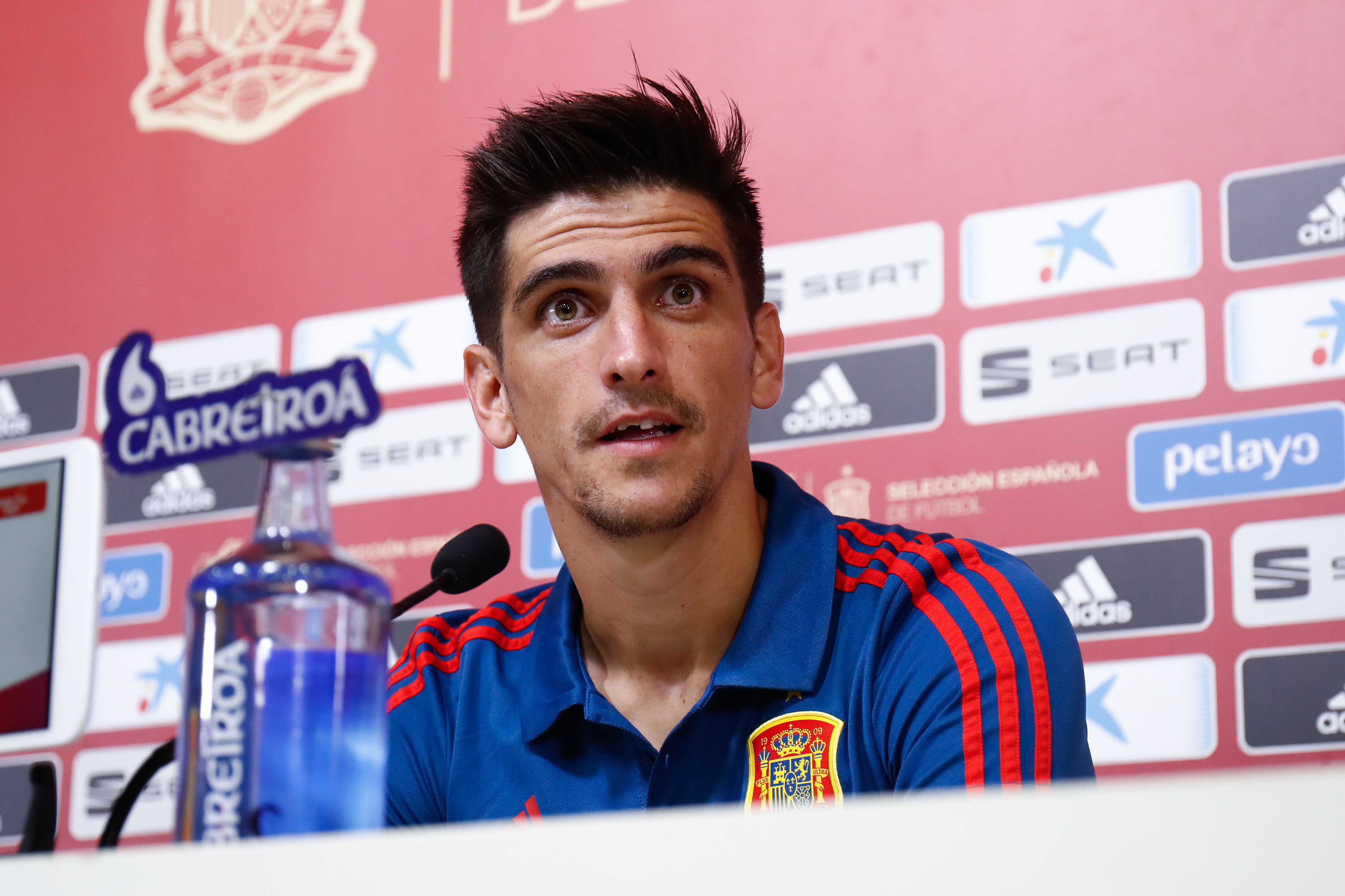 Spanish National Soccer Team Press Conference