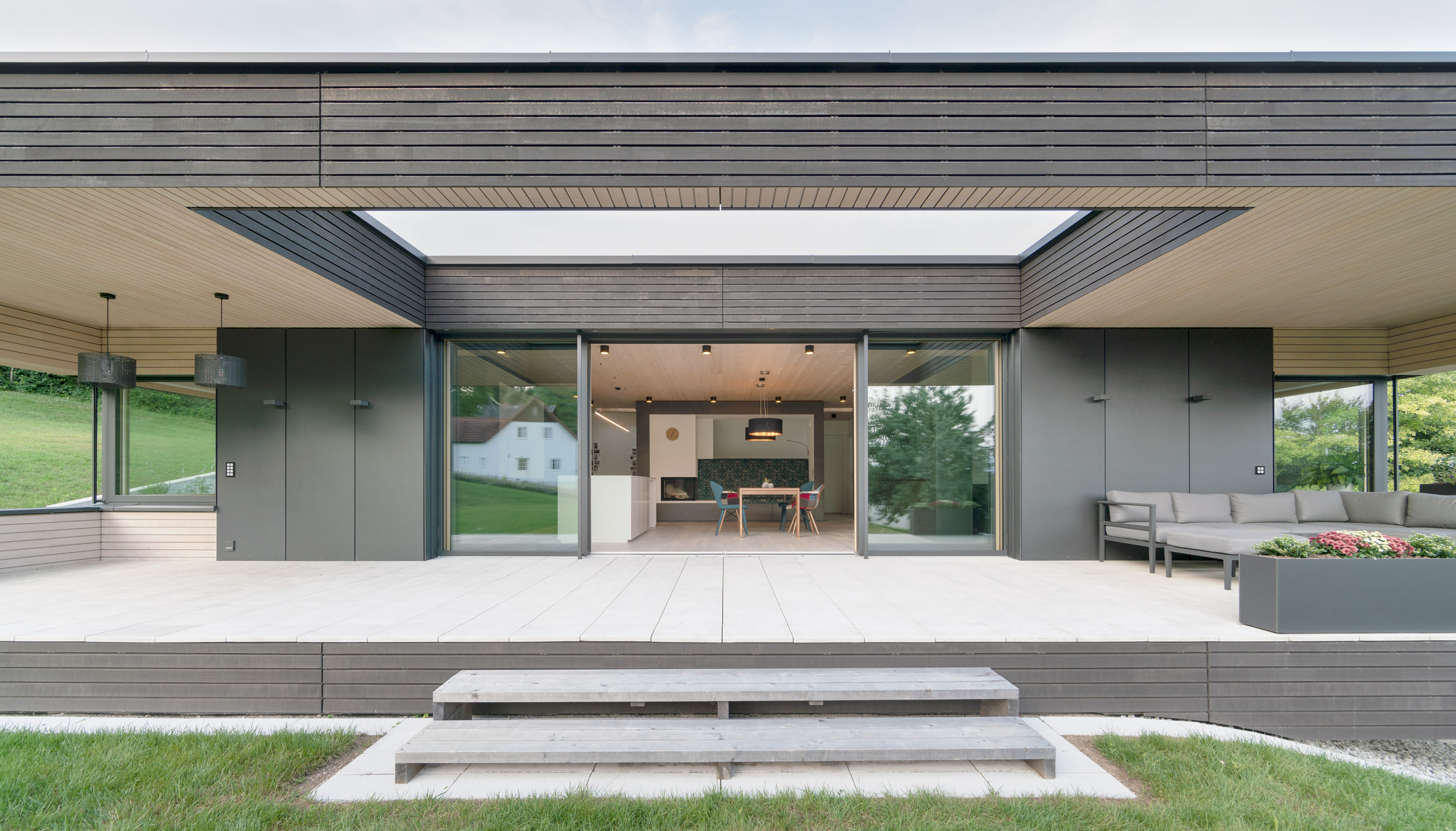 Modern home puts a sleek twist on the bungalow