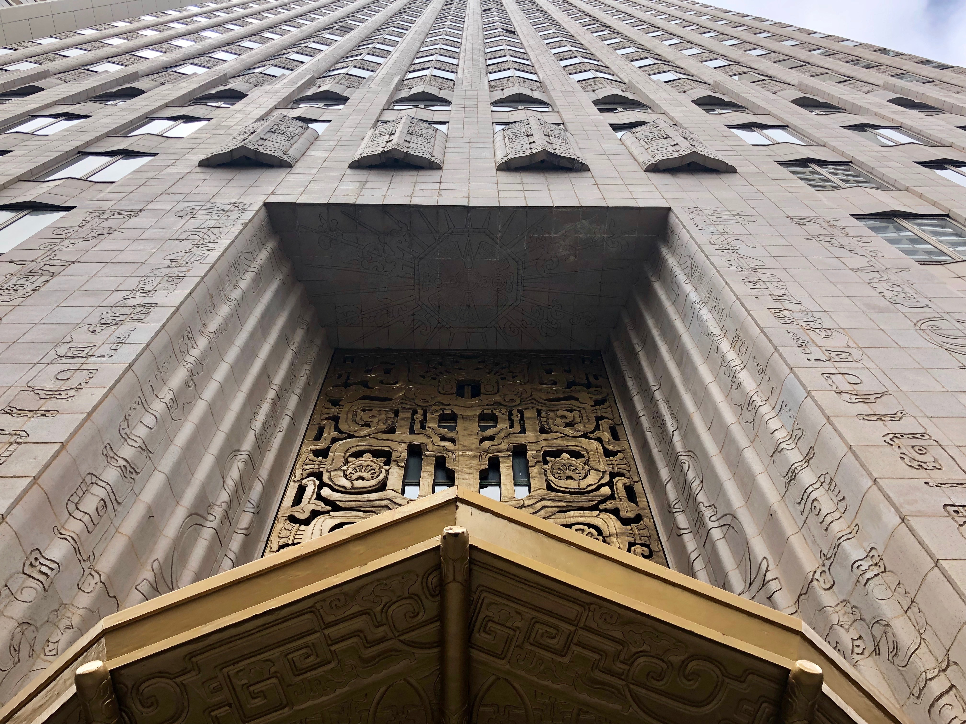450 Sutter, iconic Neo-Mayan skyscraper where you get your teeth cleaned, turns 90 today