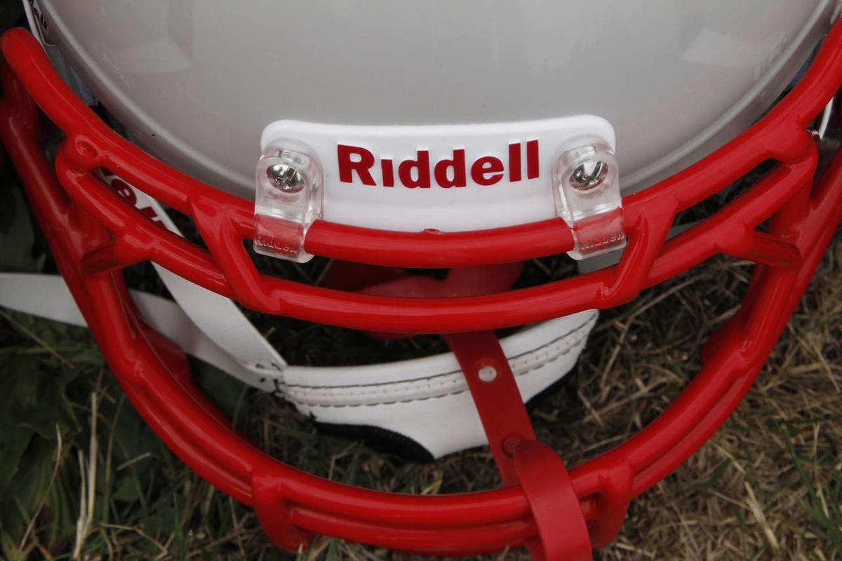 New football helmet.