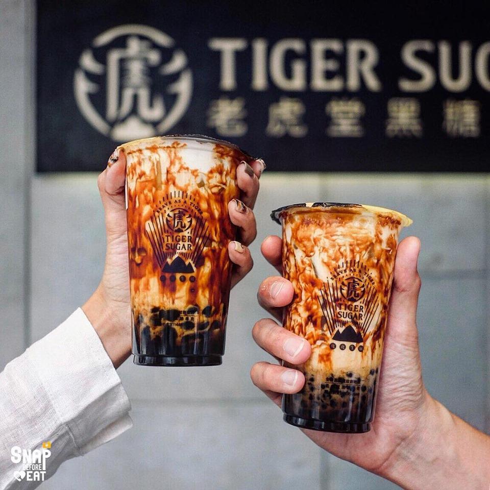 Instagram Sensation Tiger Sugar Boba Shop Is Coming to Los Angeles