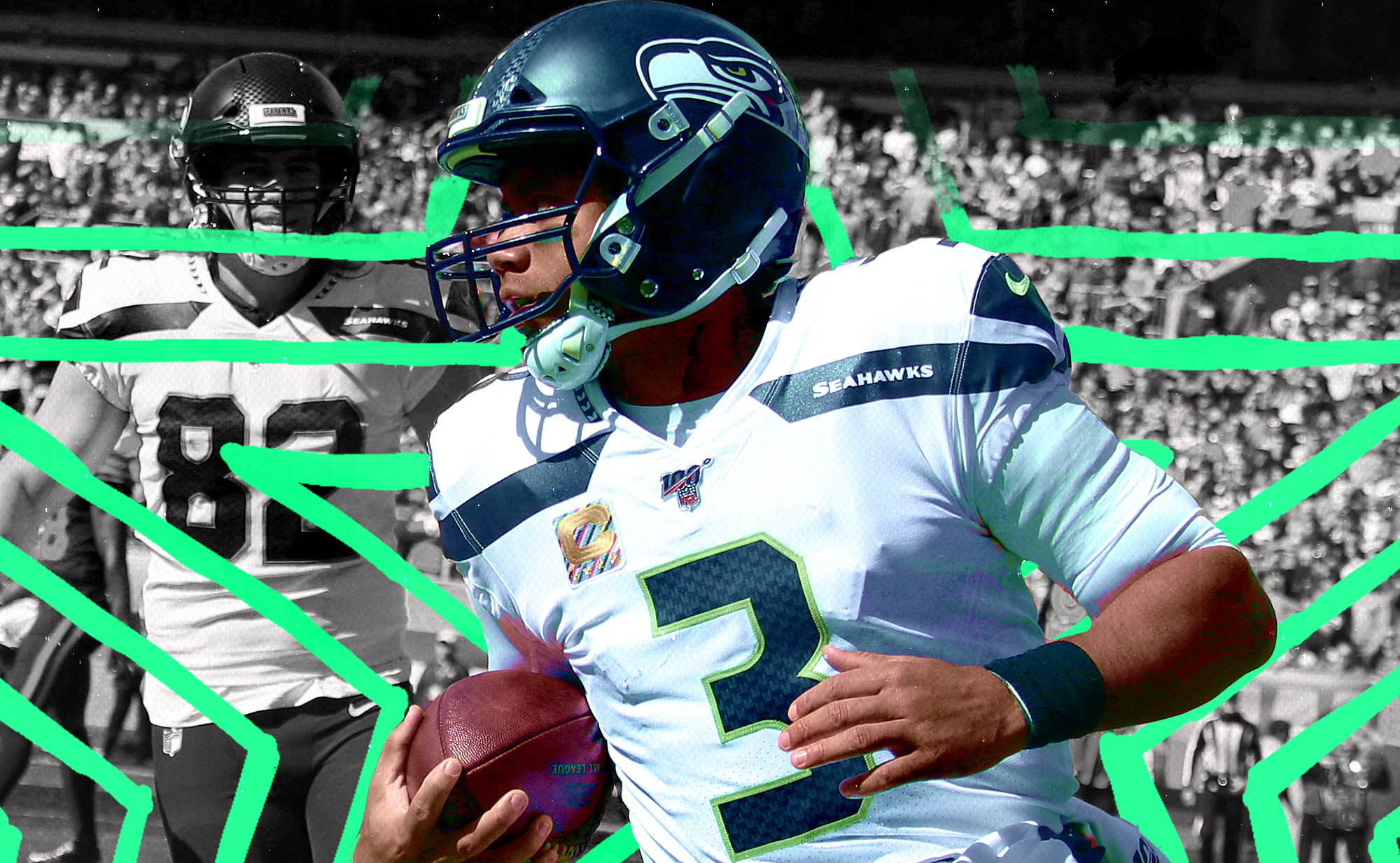 Russell Wilson is so damn good even when the world is falling apart