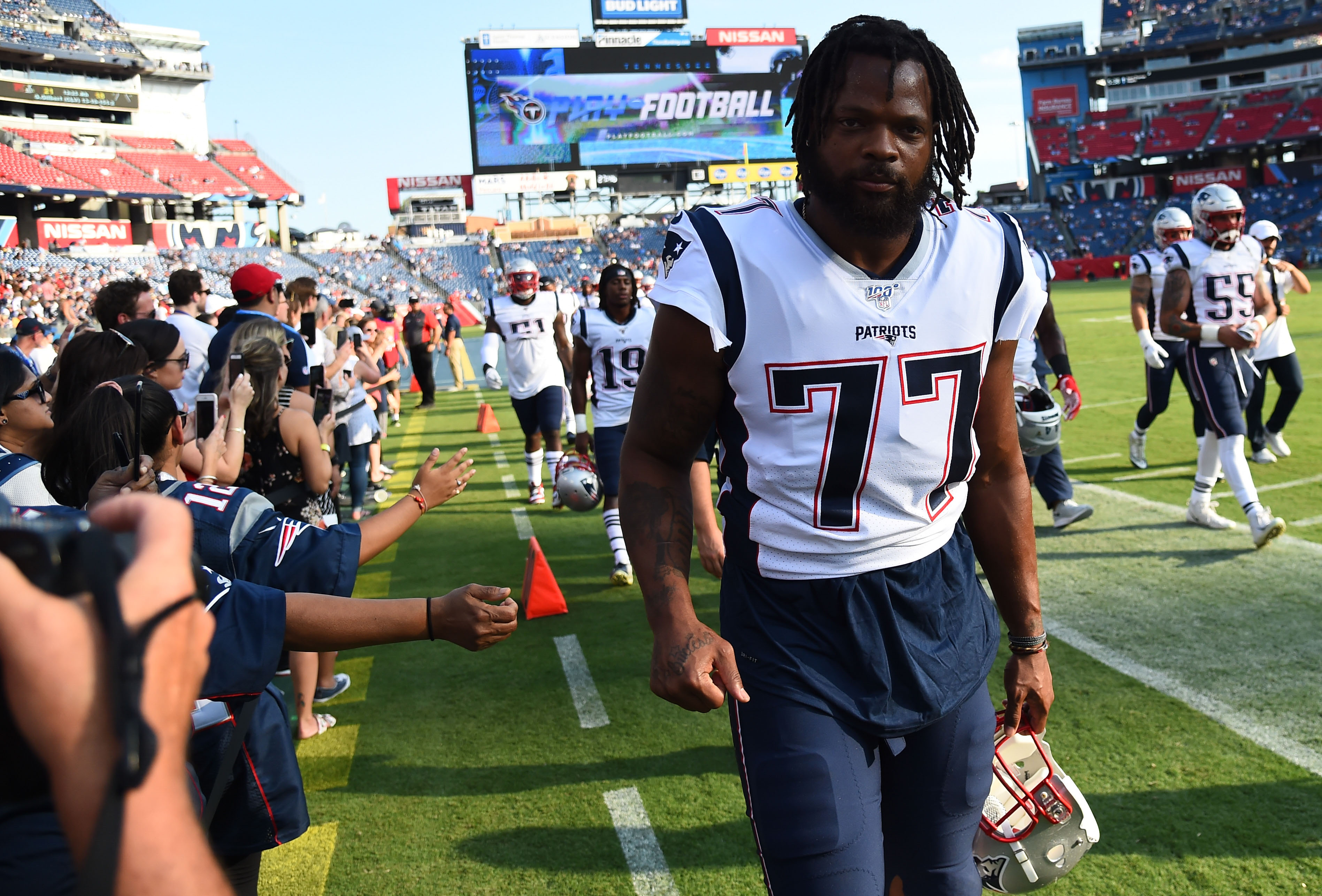 NFL: Preseason-New England Patriots at Tennessee Titans