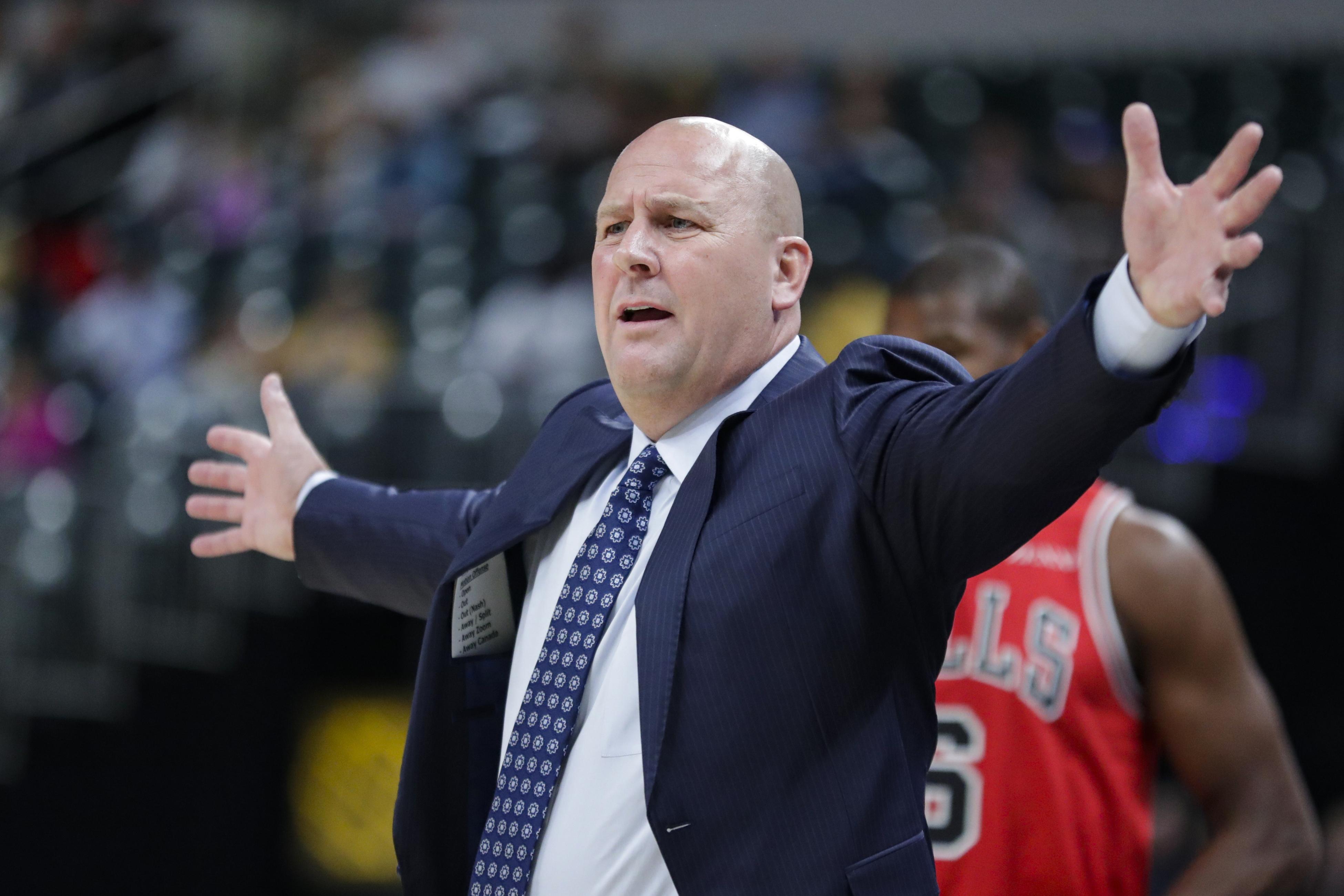 Bulls coach Jim Boylen has promised a more up-tempo offense this season.