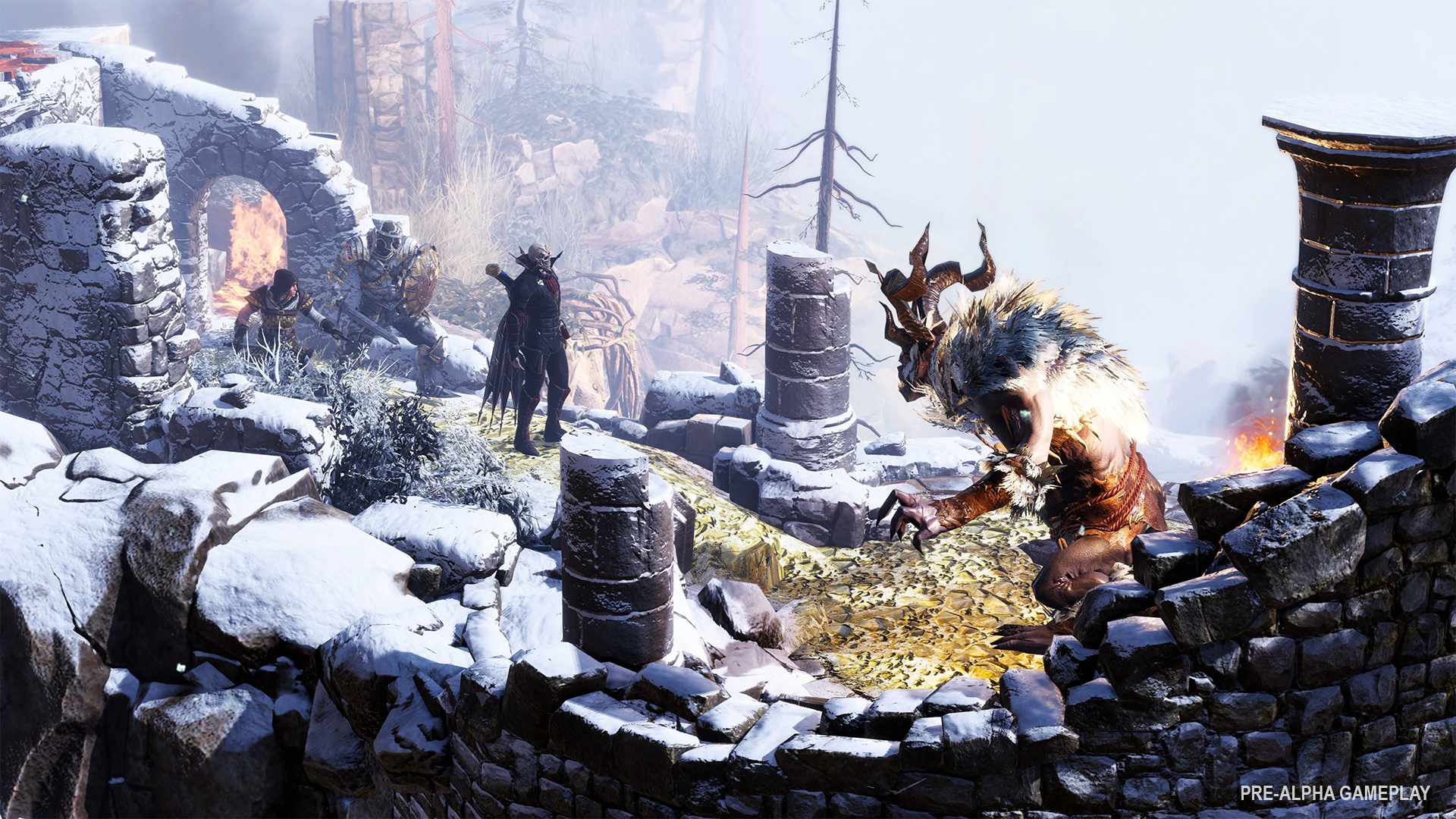 Early gameplay from Divinity: Fallen Heroes.