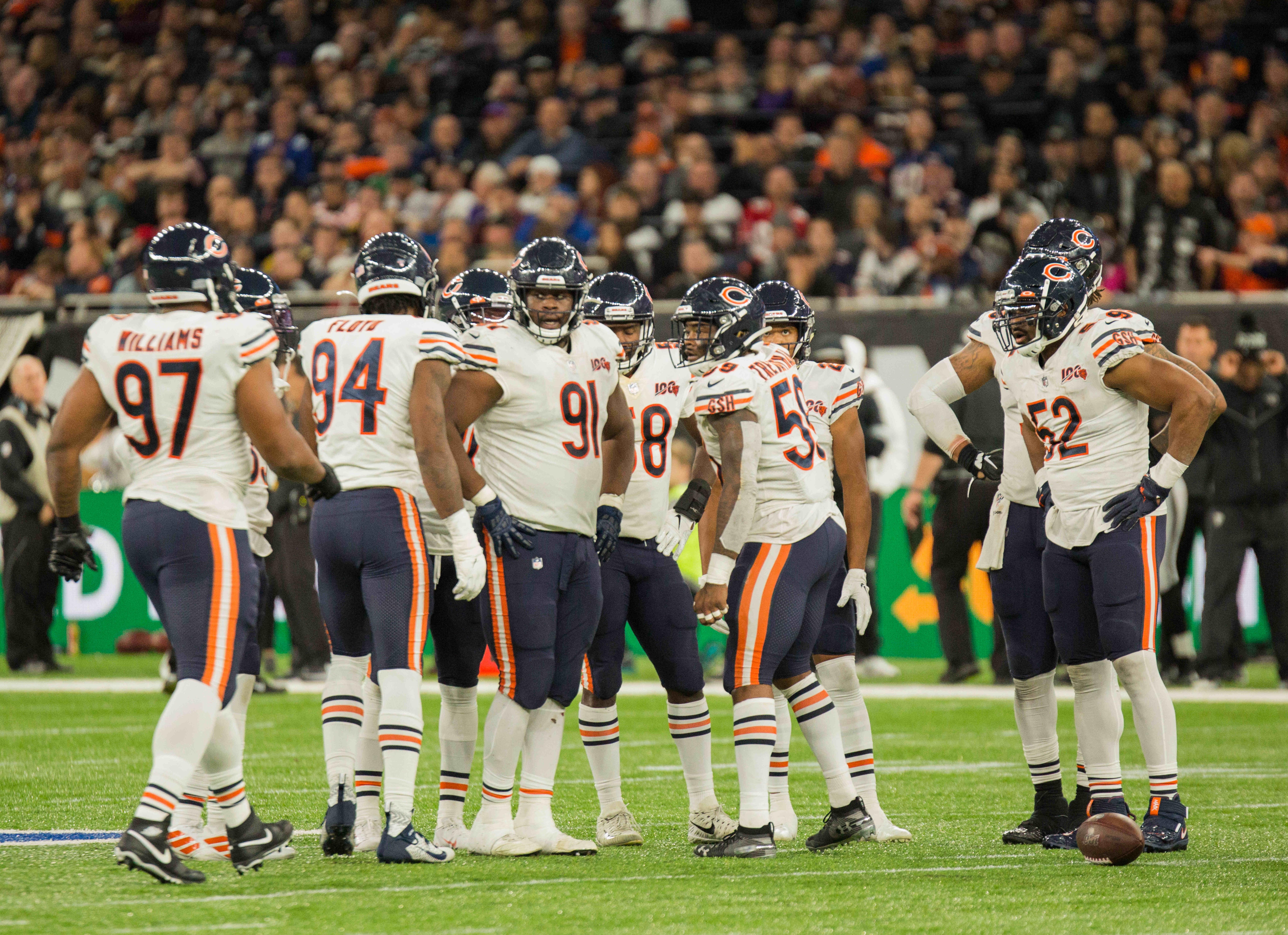 NFL: OCT 06 Bears v Raiders