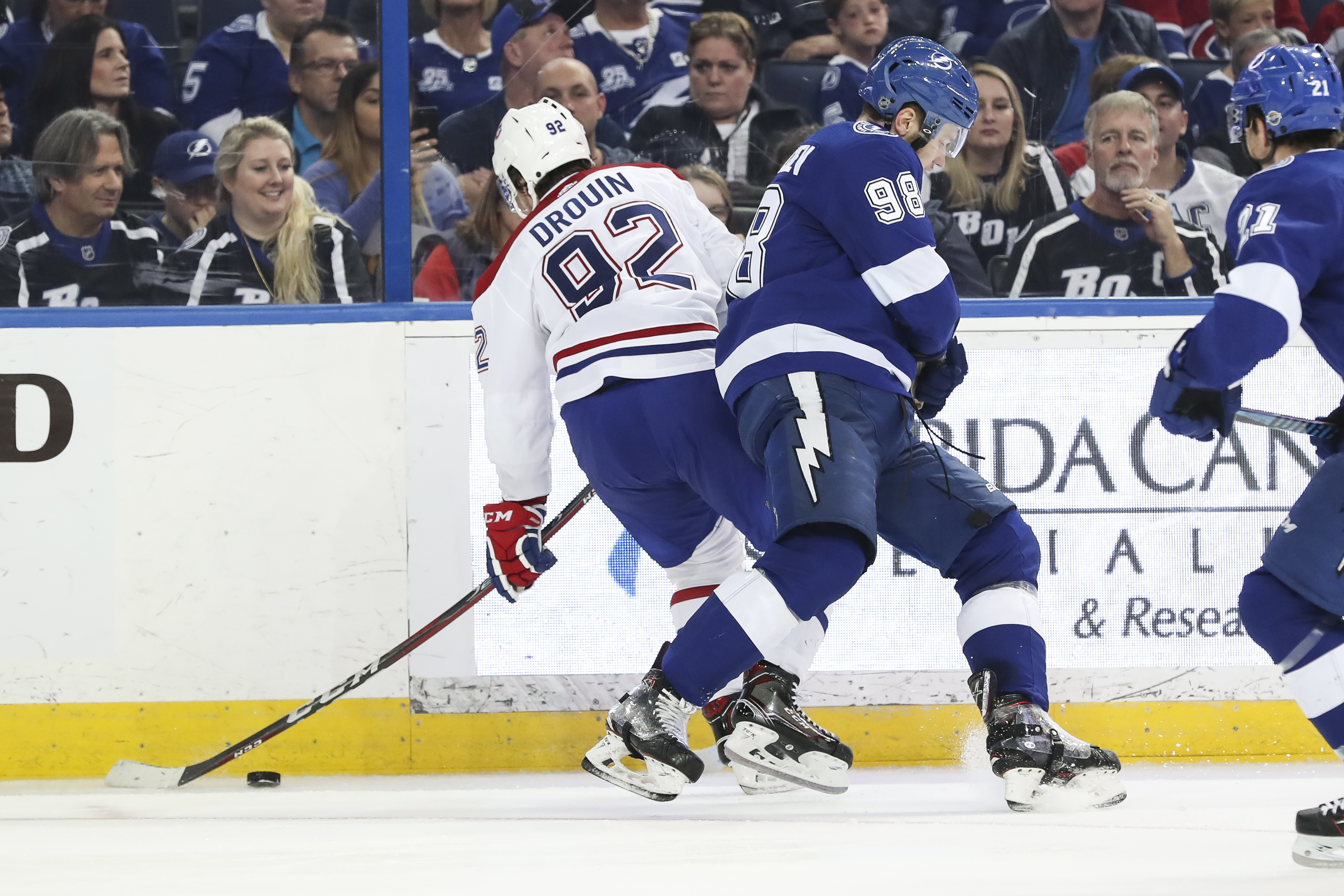 NHL: DEC 28 Canadiens at Lightning