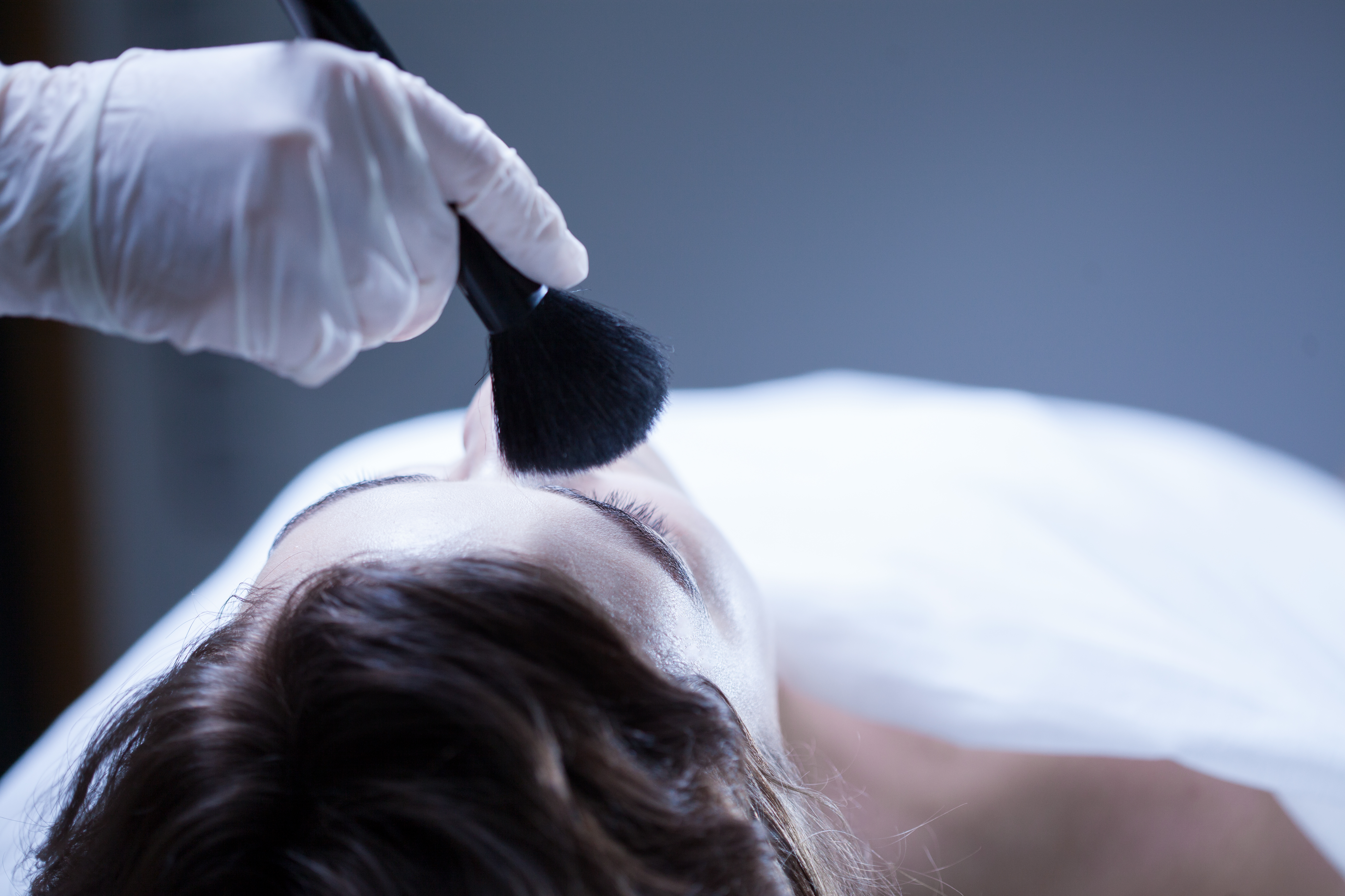 The art of doing makeup on a dead body