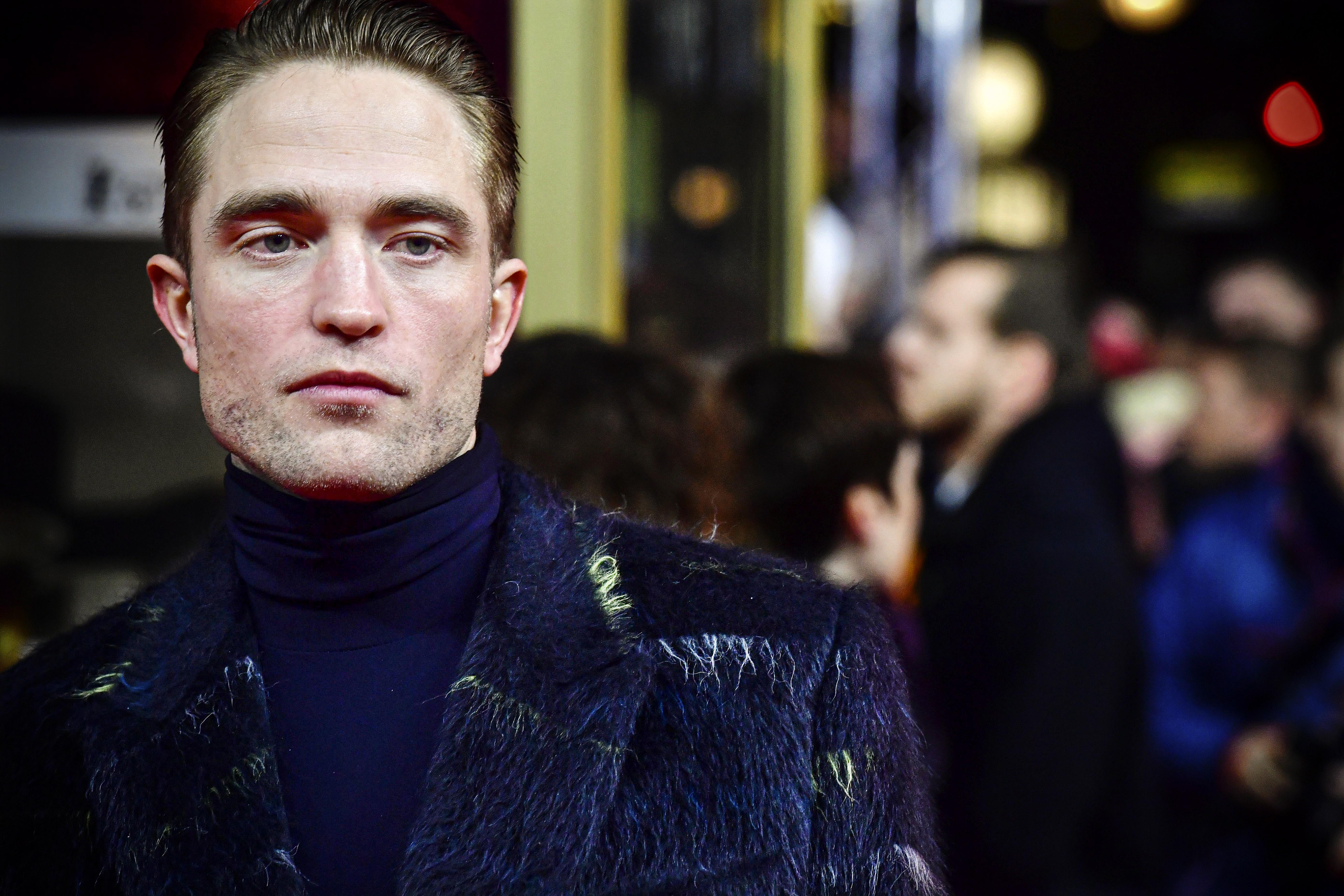 Robert Pattinson on the red carpet.