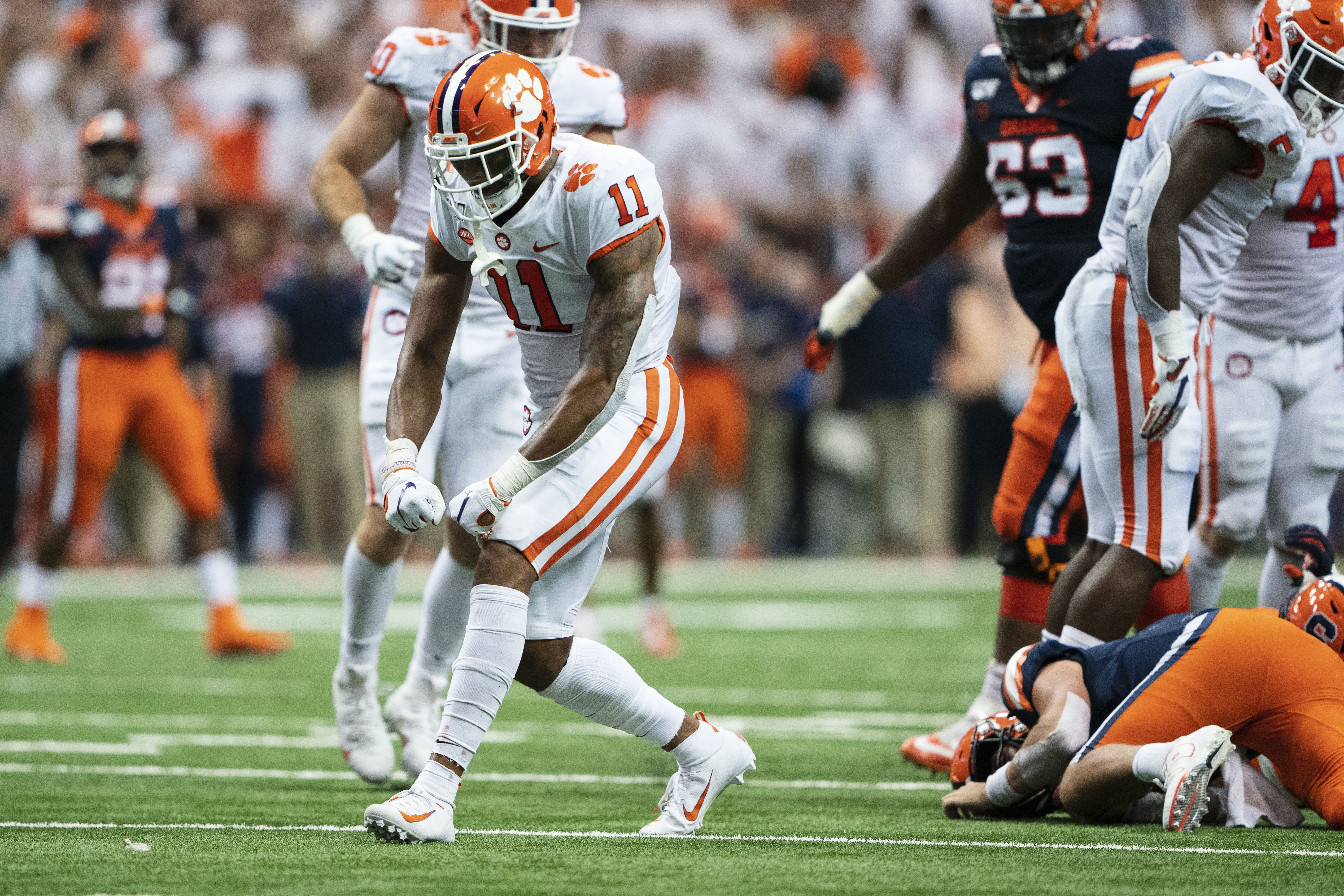 COLLEGE FOOTBALL: SEP 14 Clemson at Syracuse