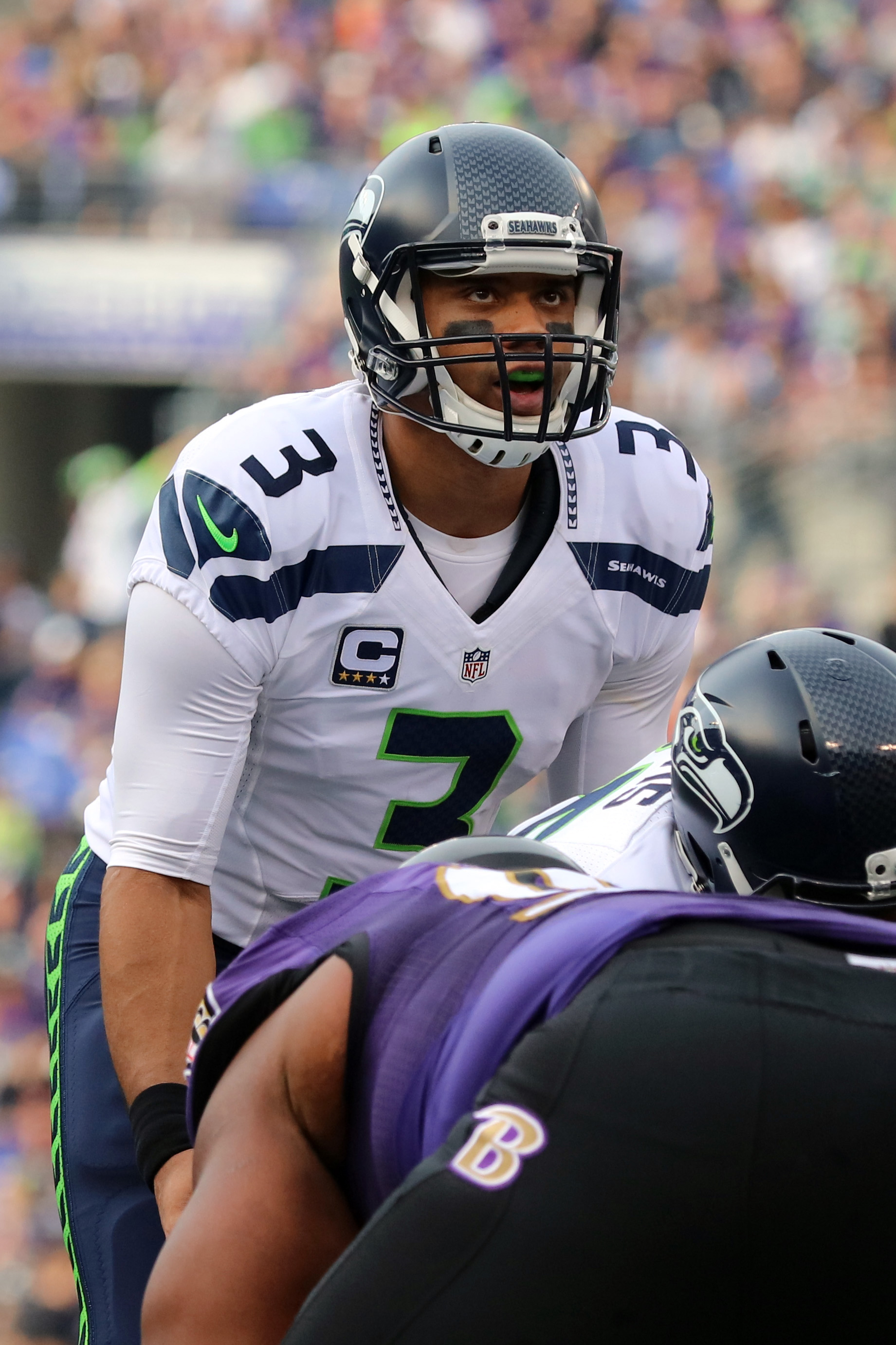 NFL: Seattle Seahawks at Baltimore Ravens