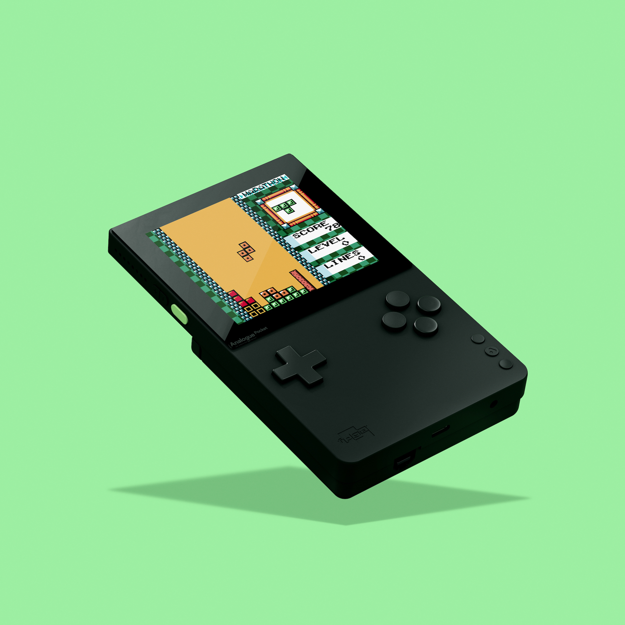 The Analogue Pocket, a portable for playing classic cartridges from the Game Boy era