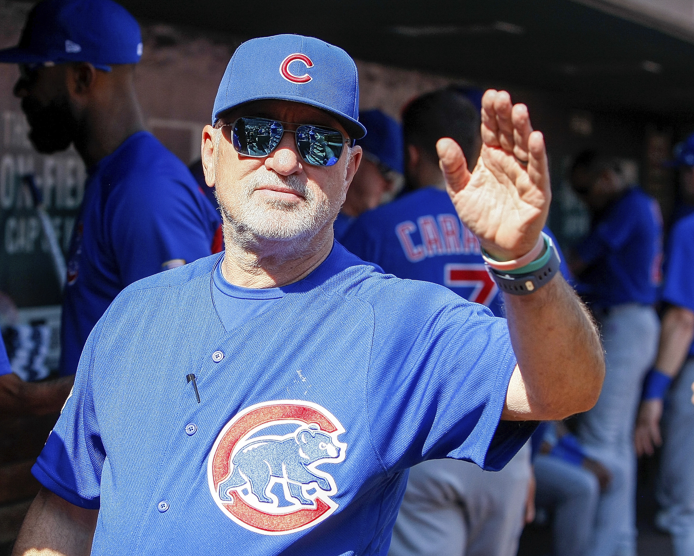 The Angels have reportedly signed former Cubs manager Joe Maddon to a three-year deal.