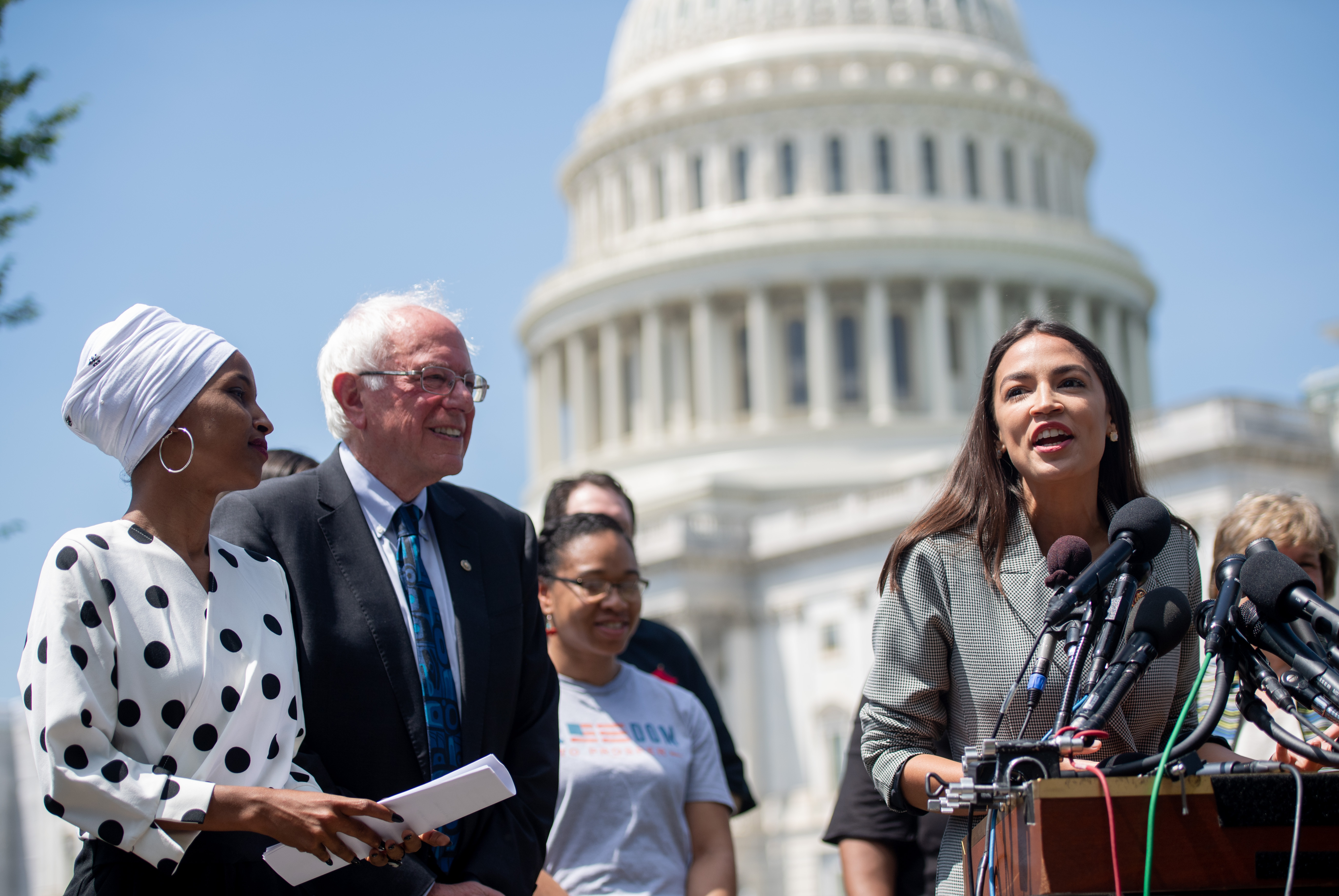 Bernie Sanders and Ilhan Omar Want to Make School Lunch Free for All Students