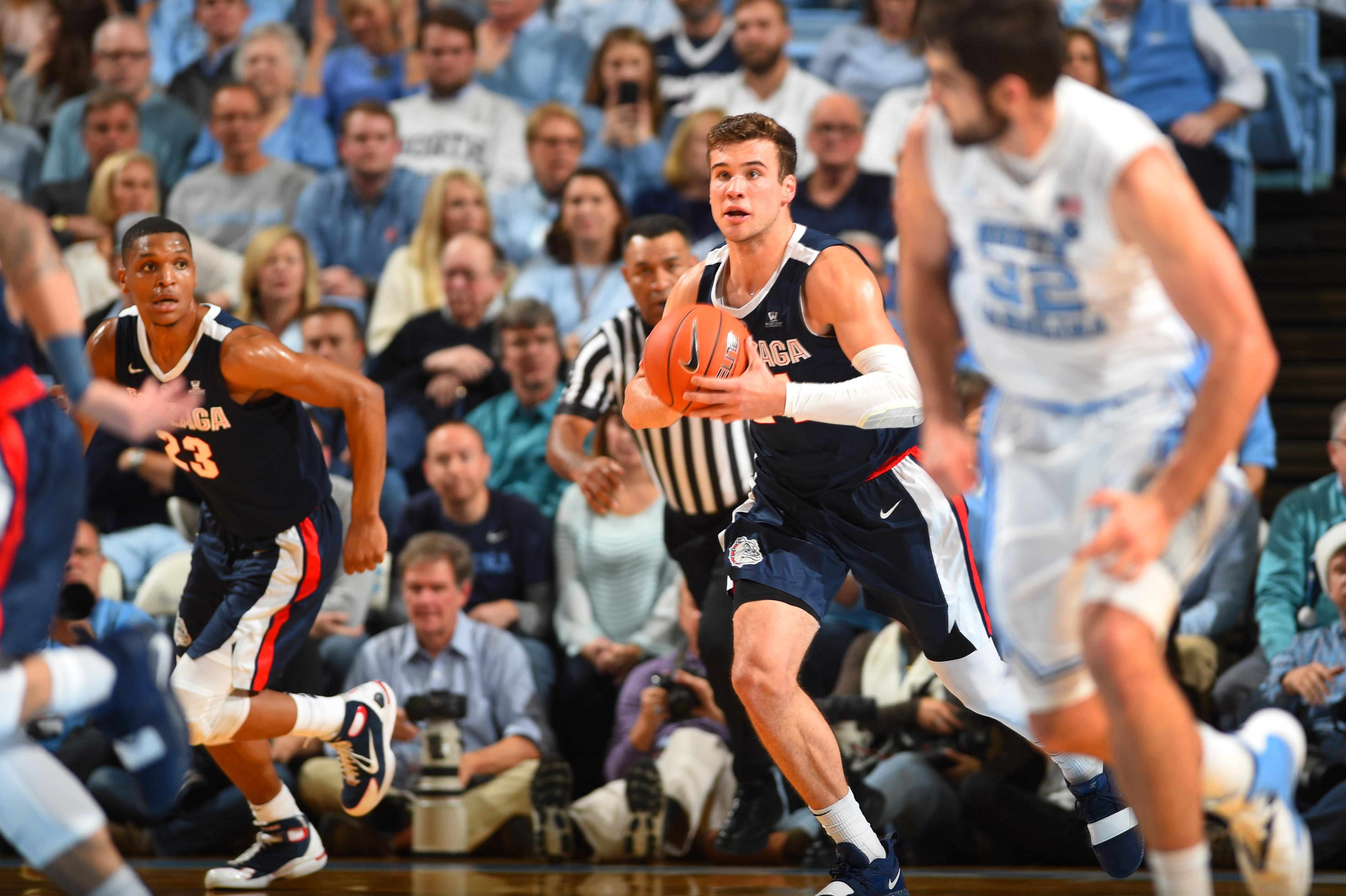 NCAA Basketball: Gonzaga at North Carolina