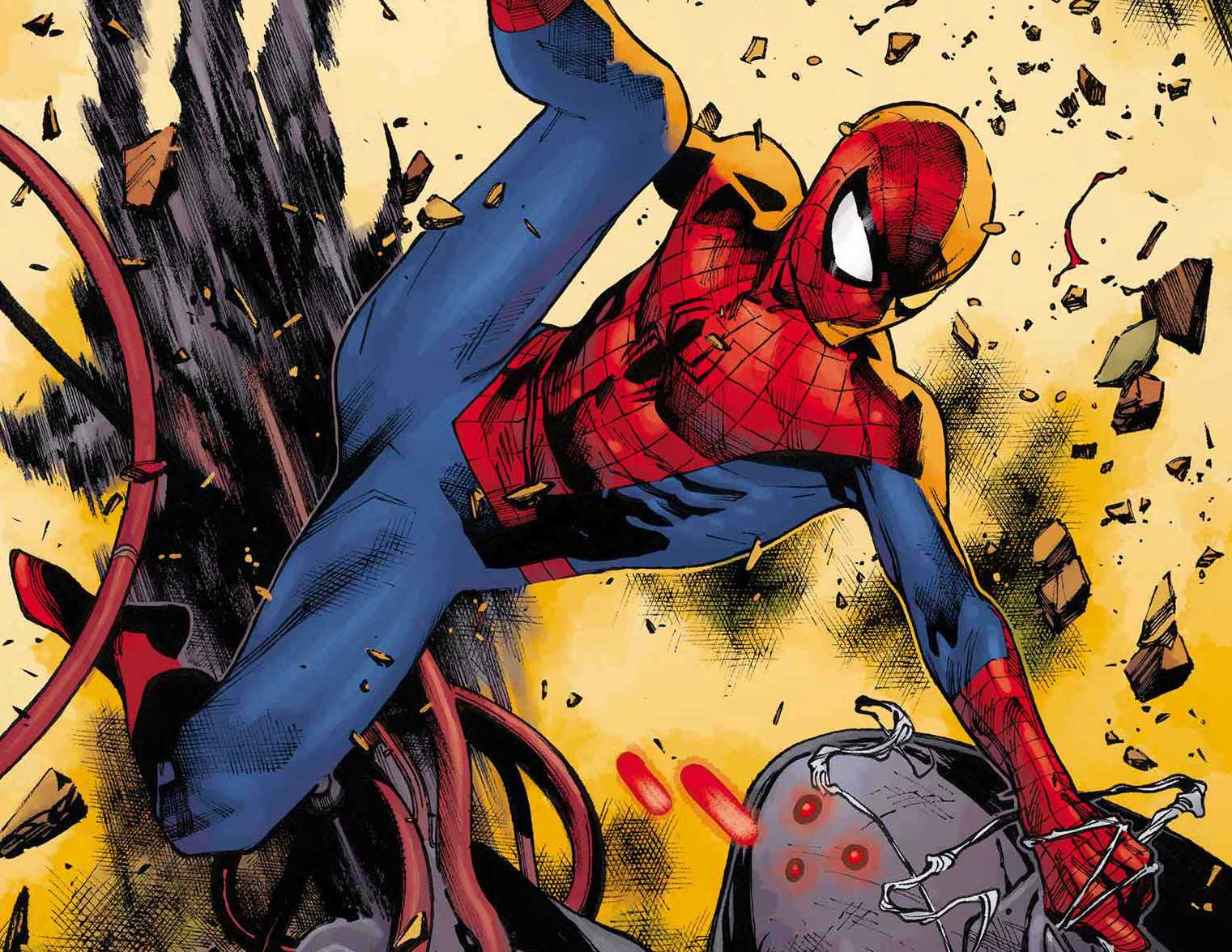 Of course J.J. Abrams killed four Marvel icons in his Spider-Man book