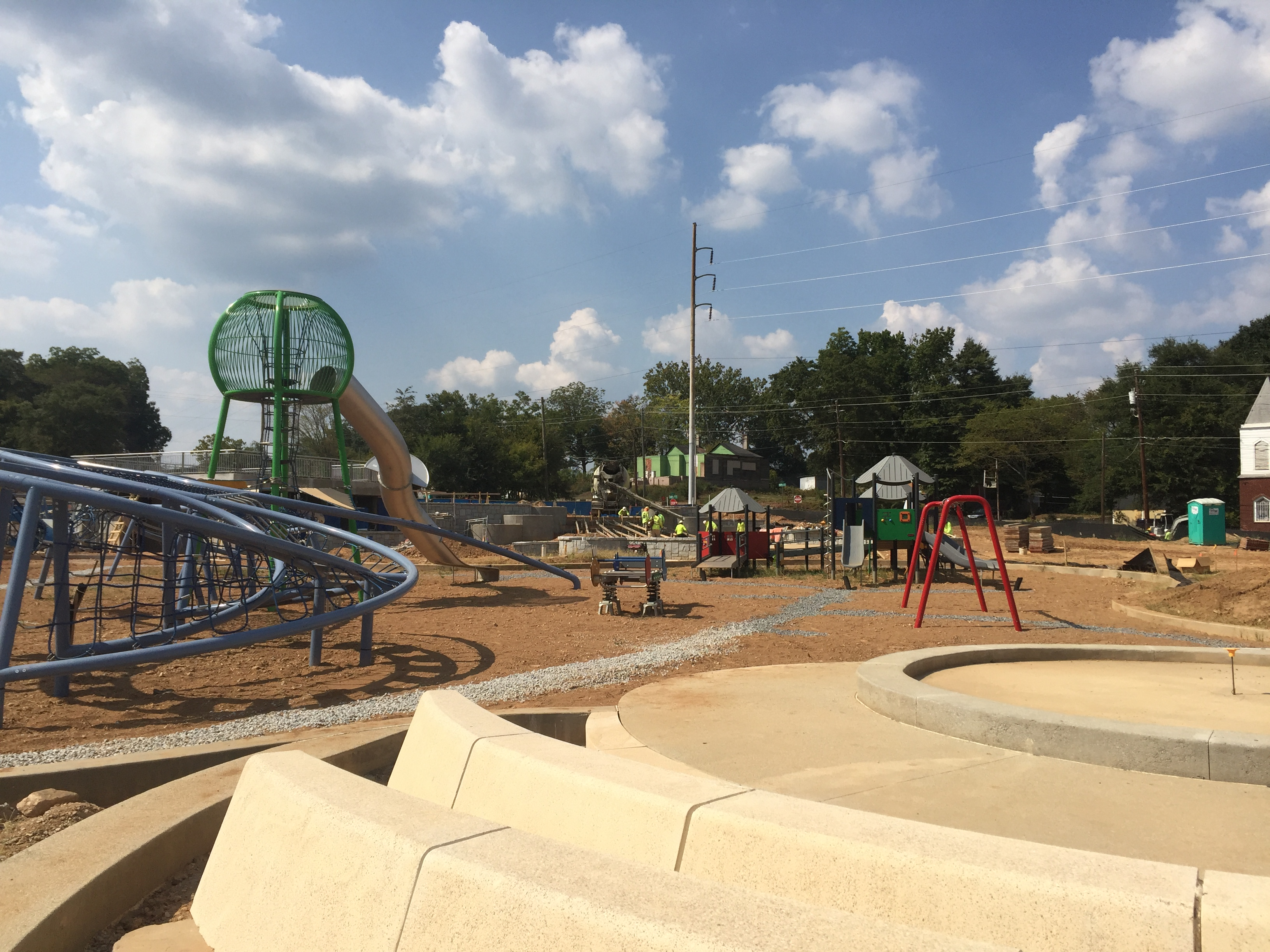 Photos: After delays, Vine City's Rodney Cook Sr. Park poised for winter debut