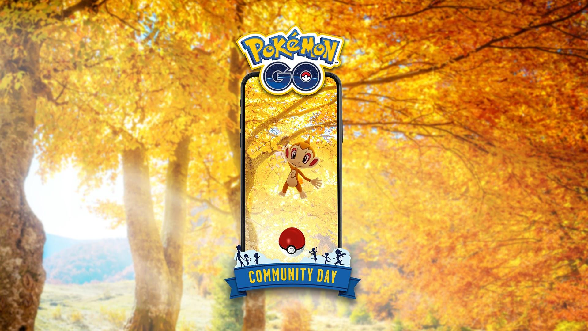November's Pokémon Go Community Day focuses on Chimchar