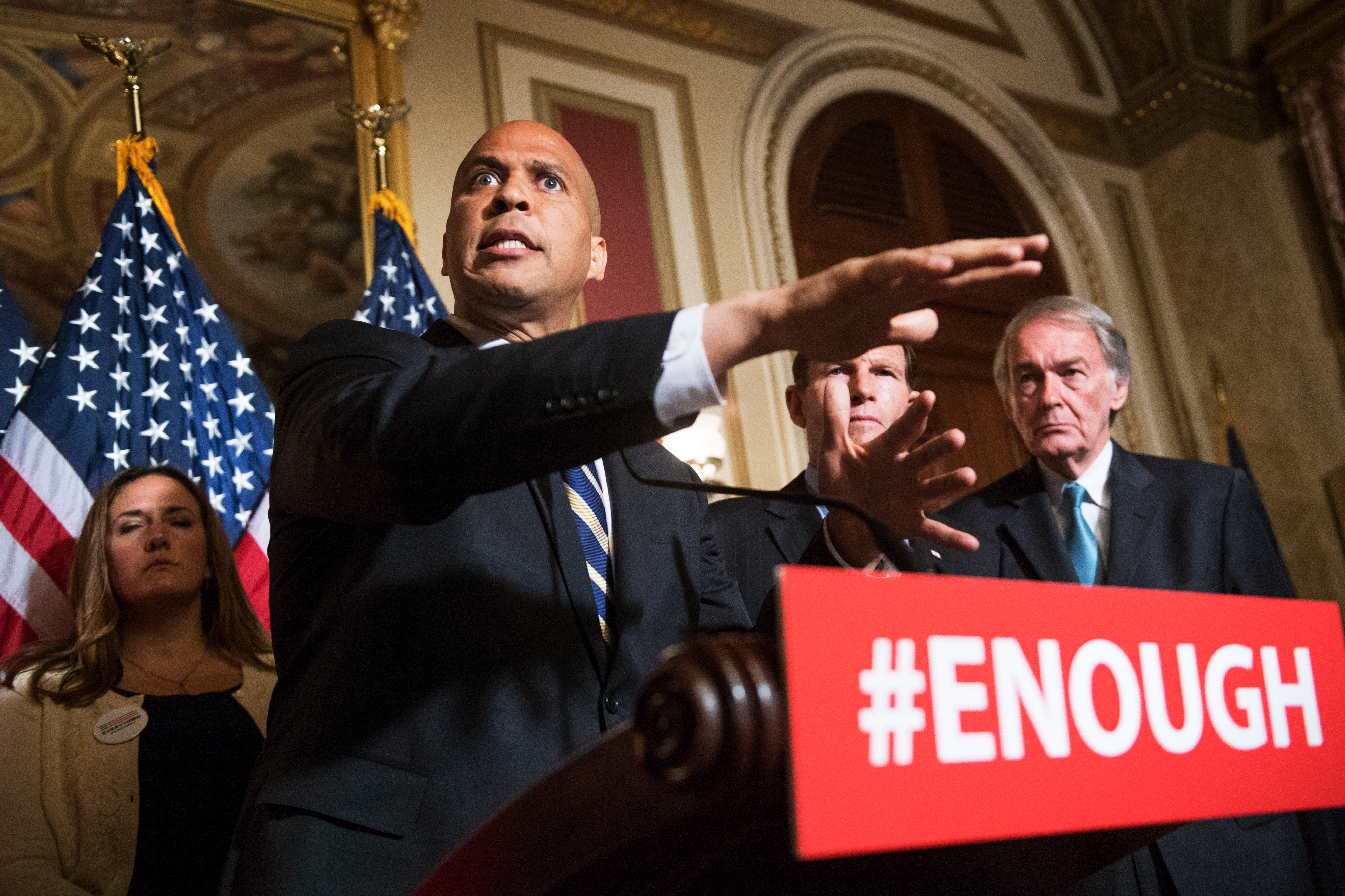 Cory Booker's latest gun plan goes after urban violence