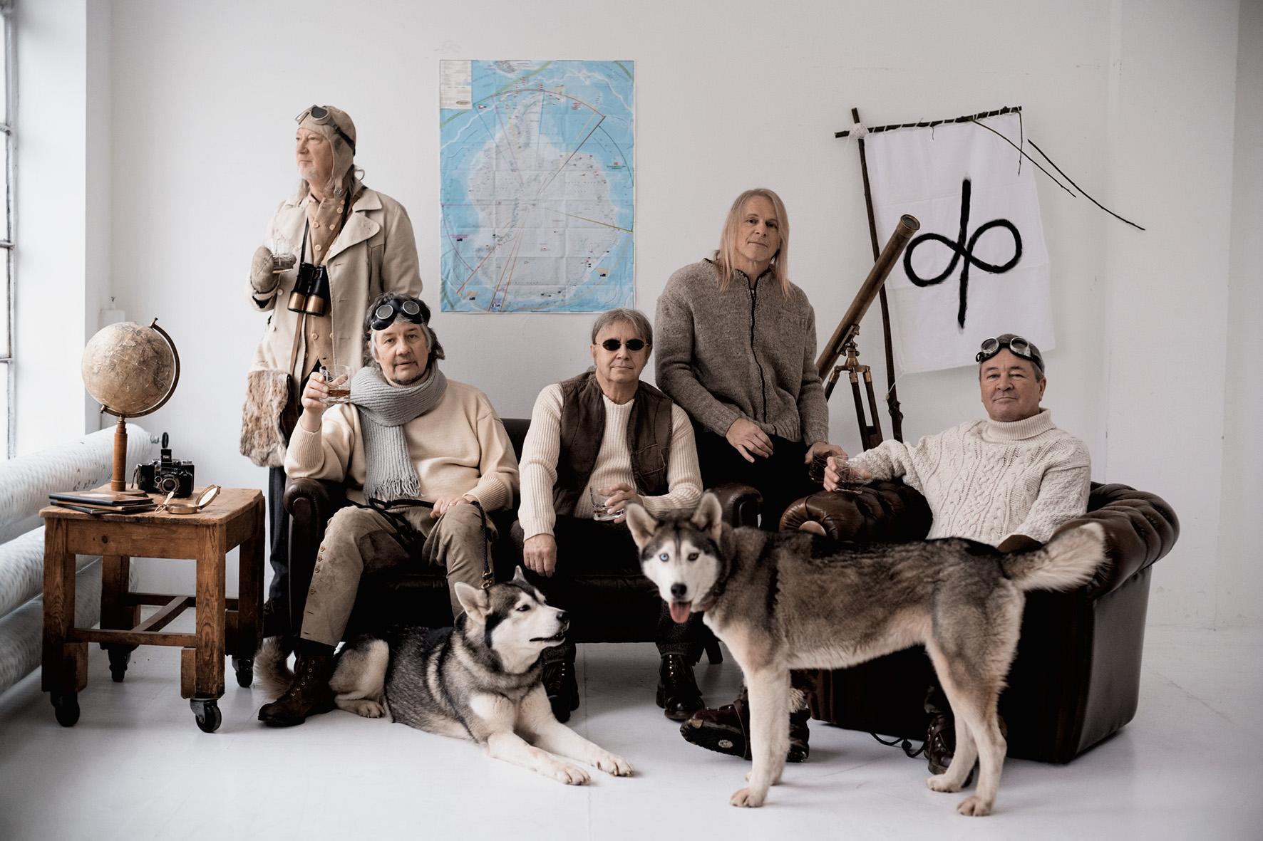 Deep Purple: Roger Glover (from left), Don Airey, Ian Paice, Steve Morse and Ian Gillan.